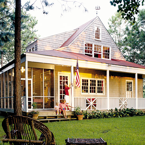 Nautical Cottage House Plan