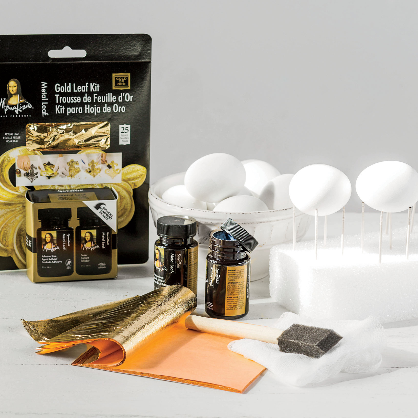 Materials for Golden Egg