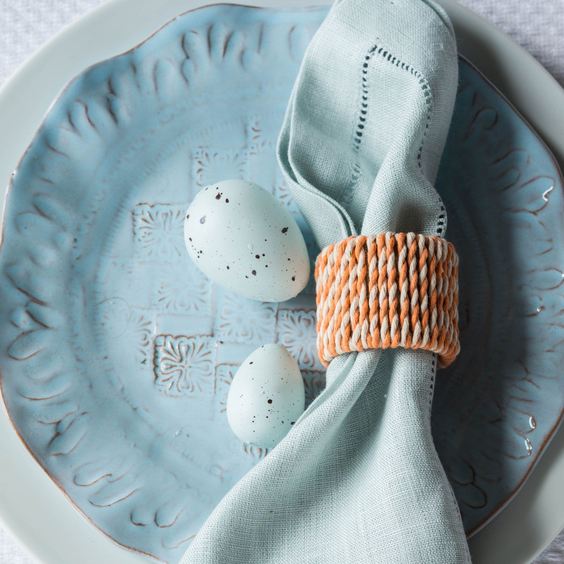 Easter Napkin Rings Step 5