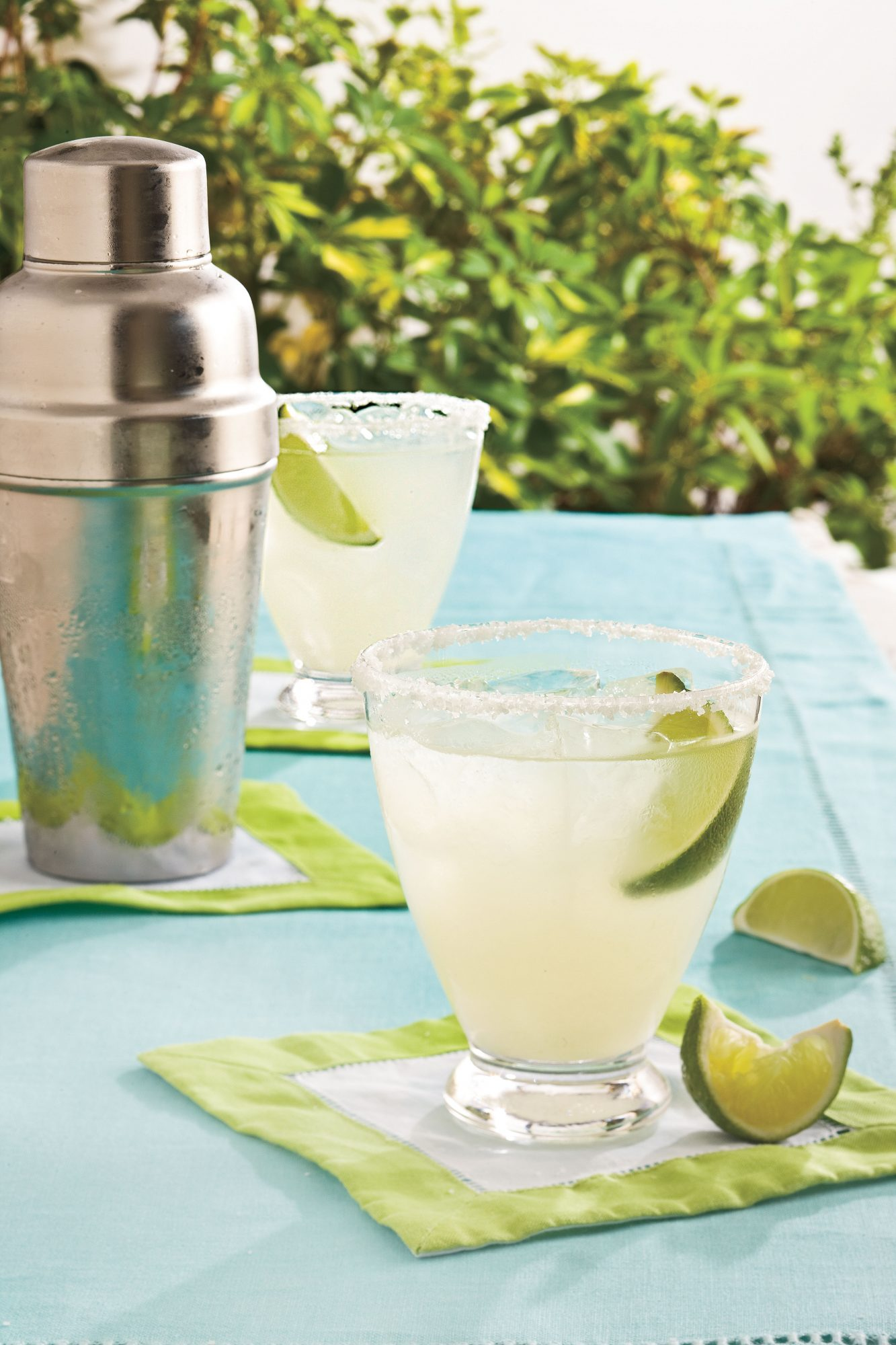 Classic Margaritas on the Rocks