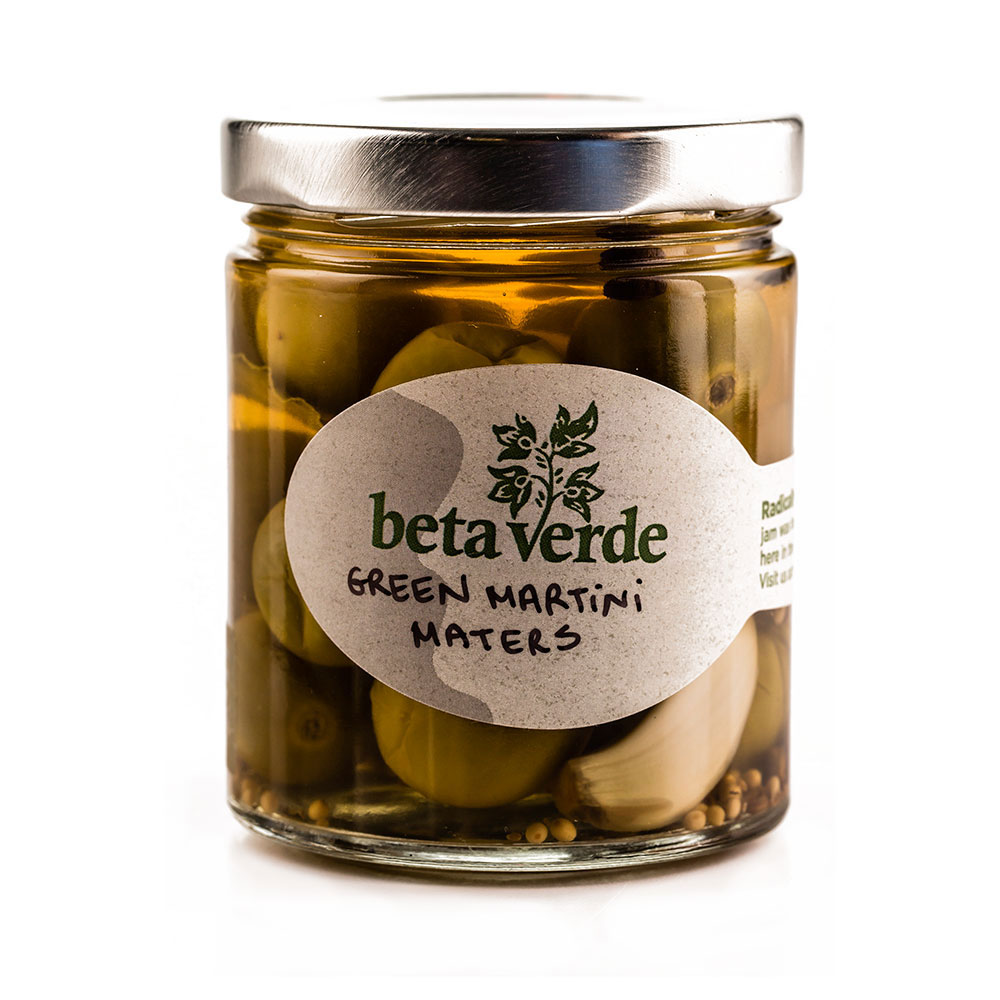 beta verde Green Mater Martini Pickles