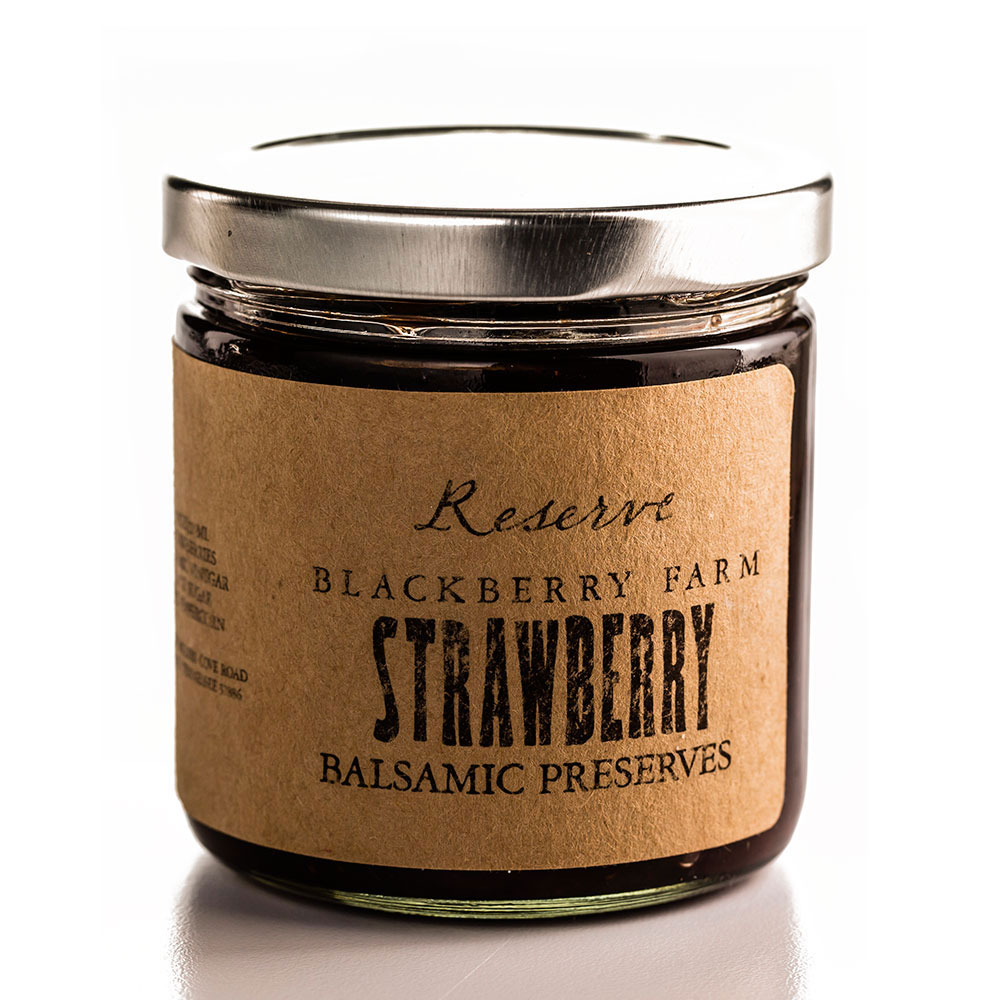 Blackberry Farm Strawberry Balsamic Preserves