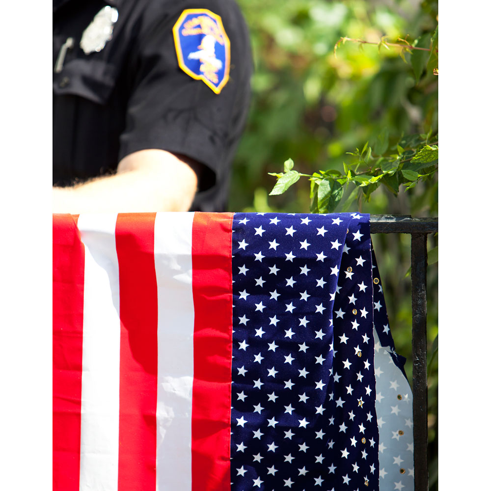 Charleston Officer Flag Image