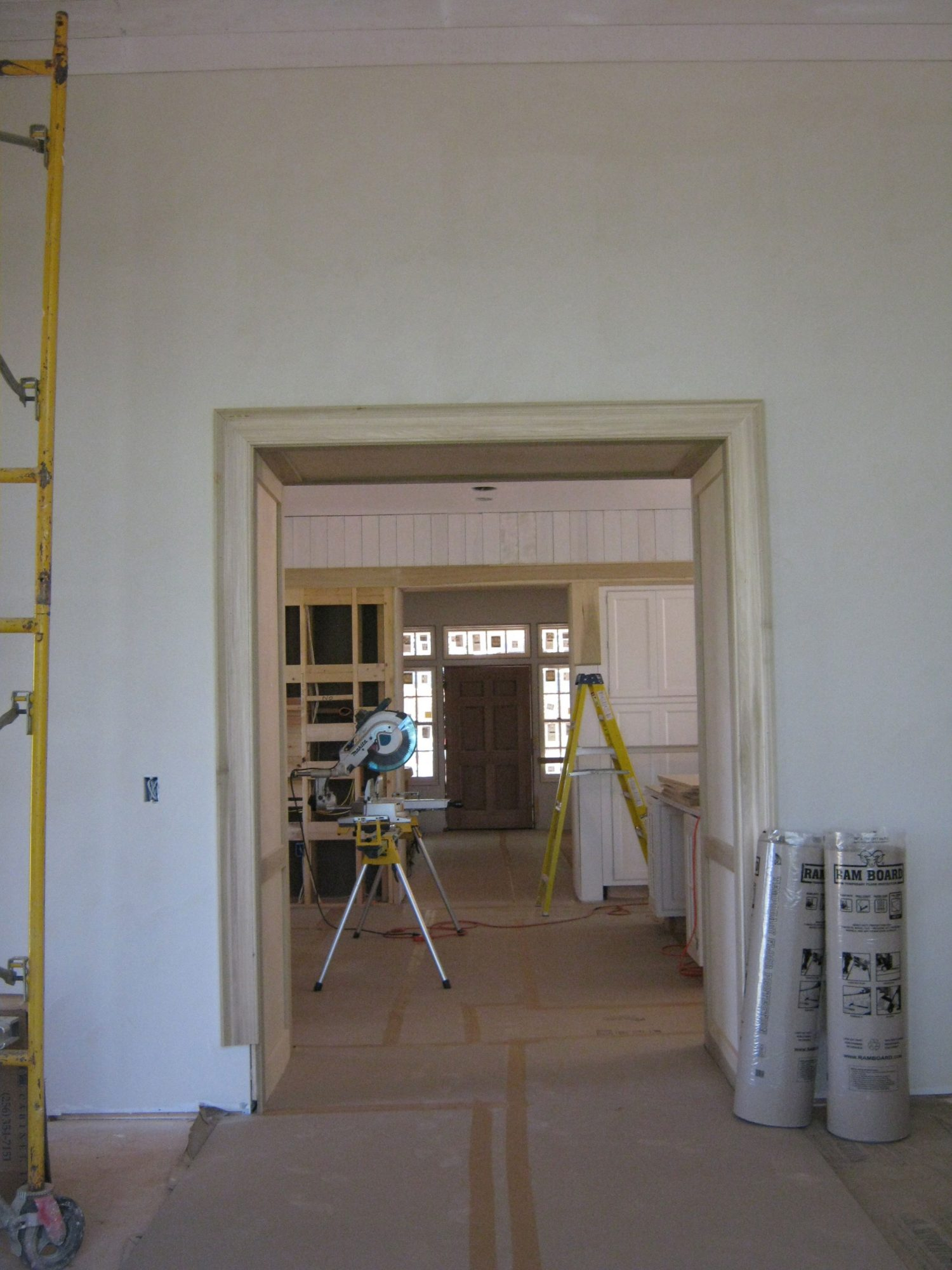 Construction Doorway