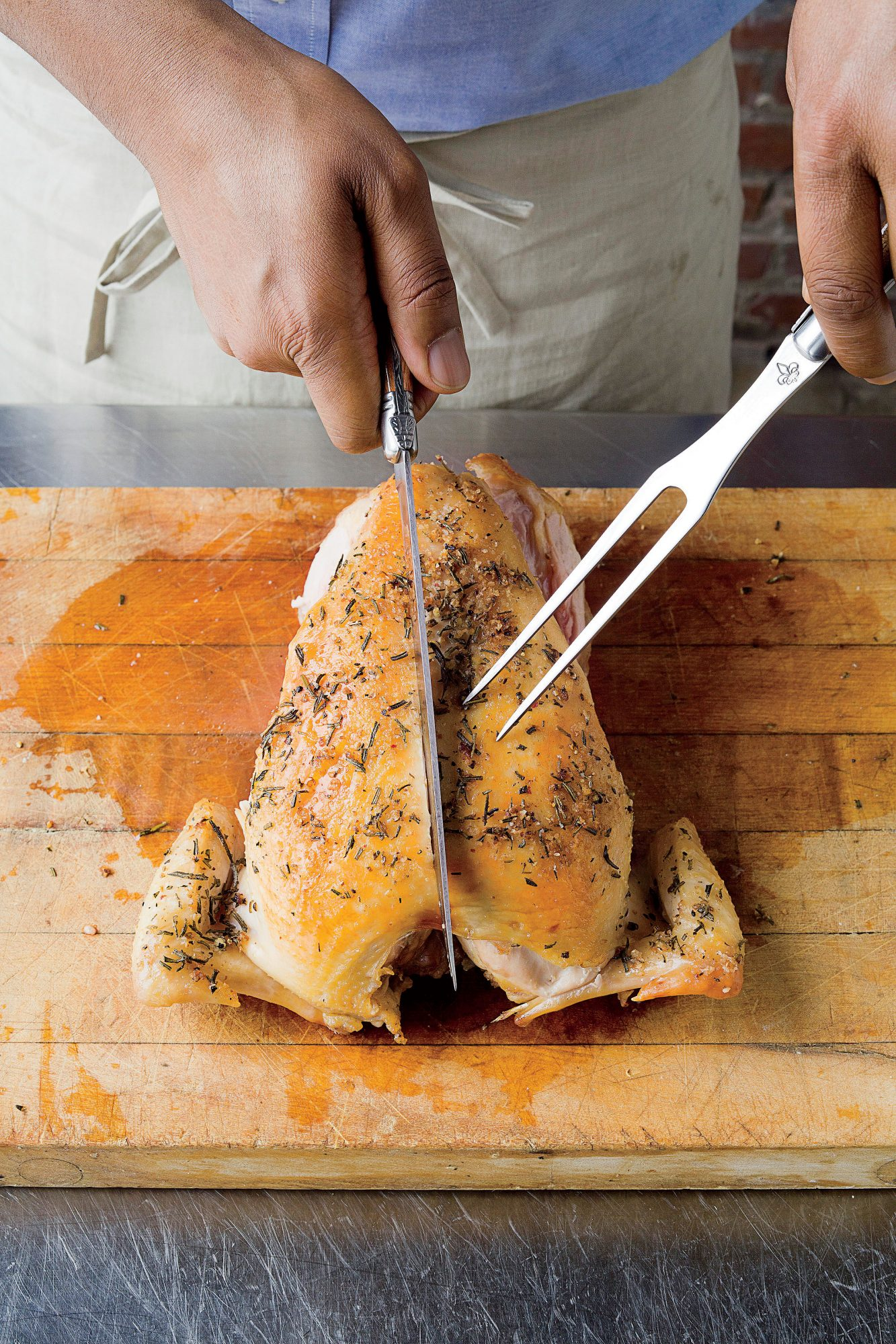 How To Carve a Chicken: Step 4