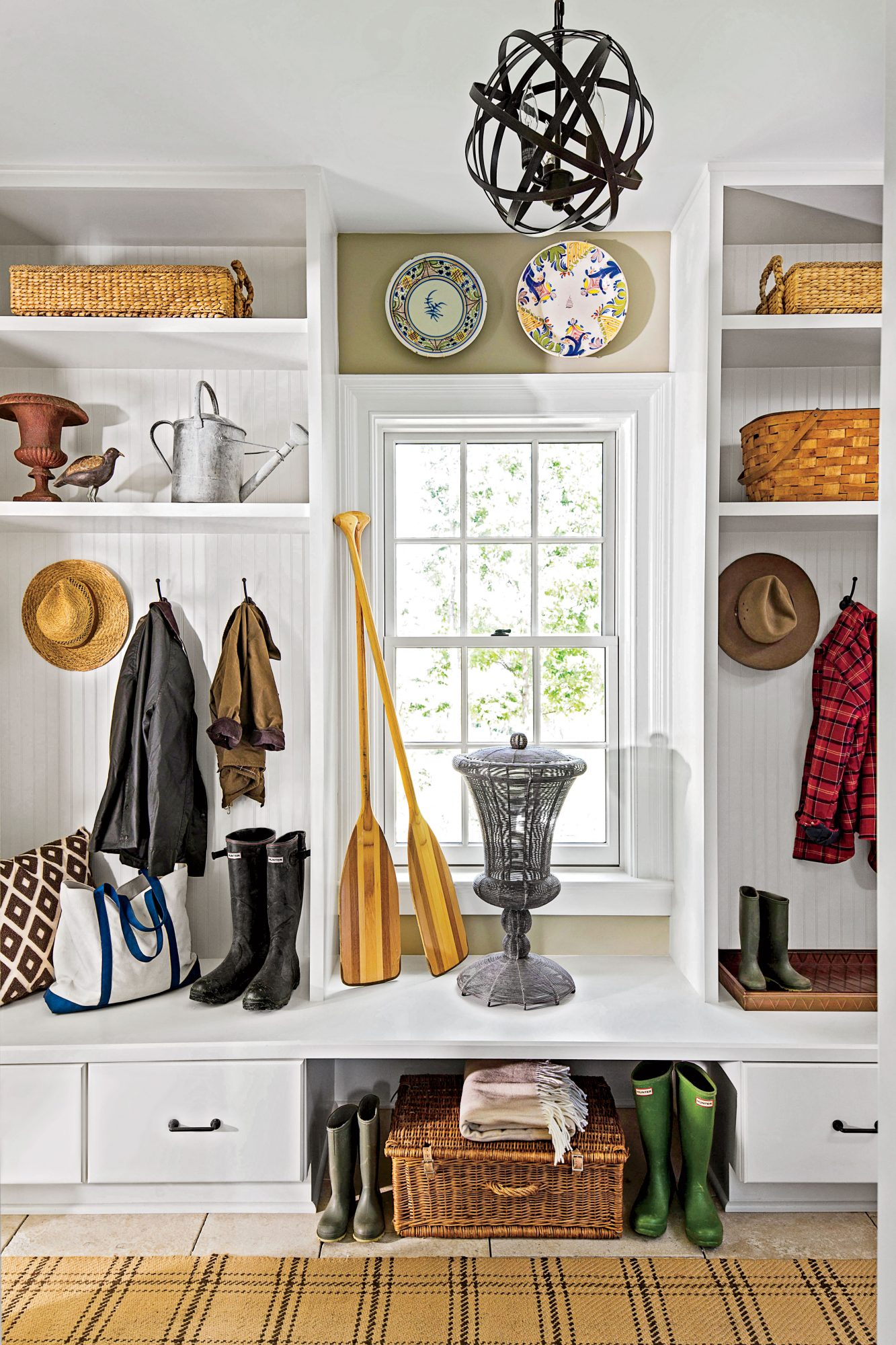 Make Your Mudroom Multitask