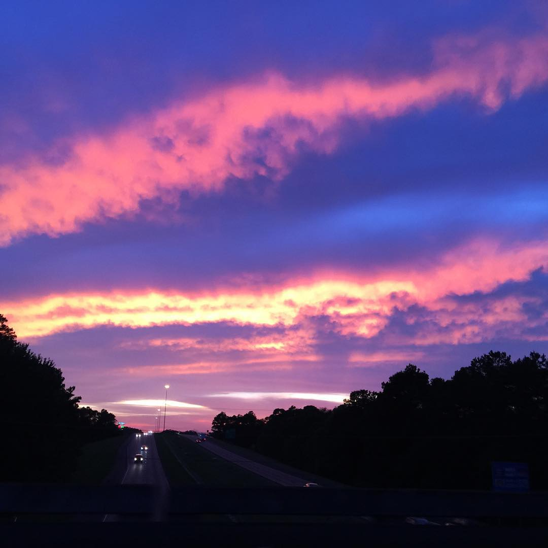 A Hammond Sunset from I-12