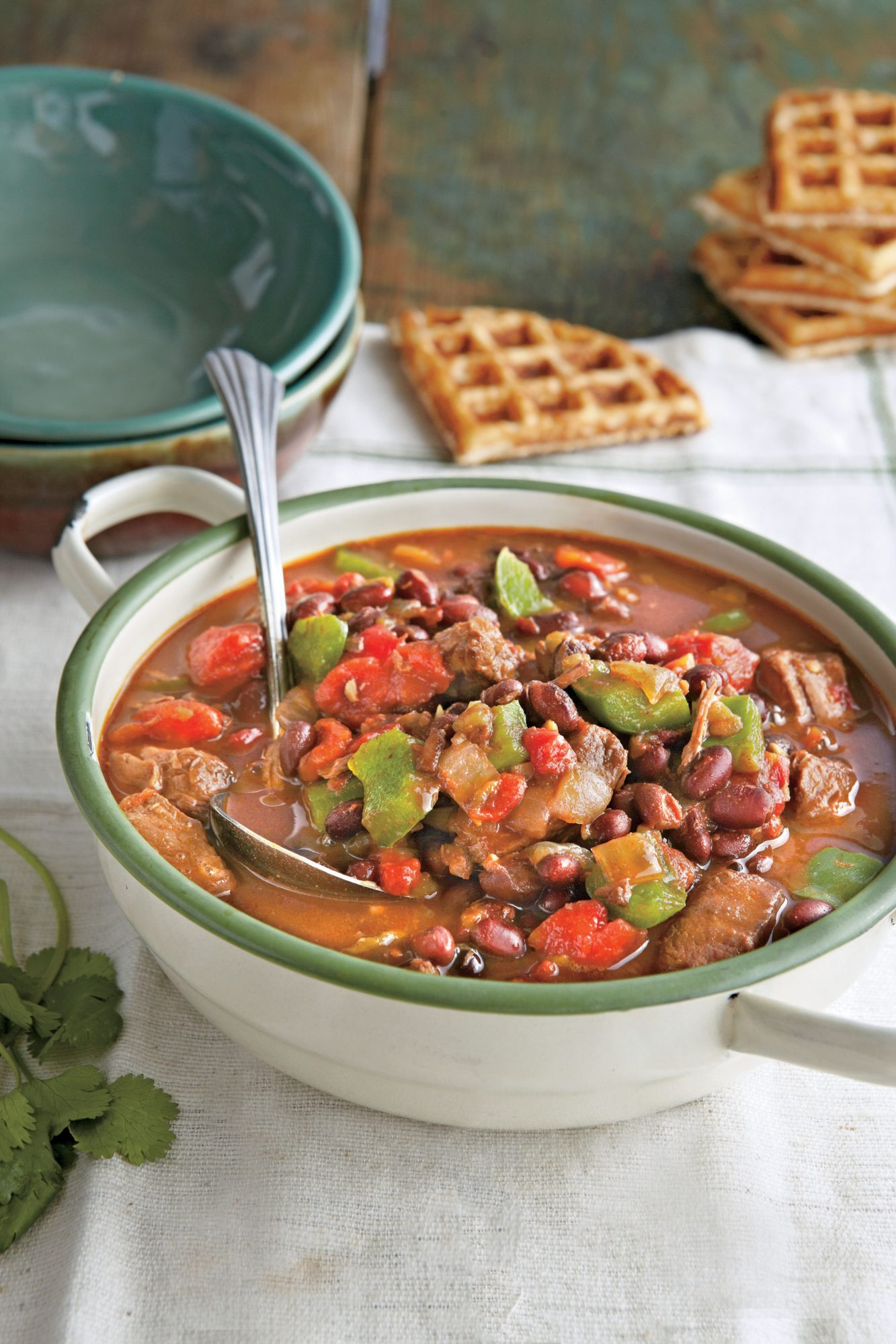 Spicy Steak and Black Bean Chili