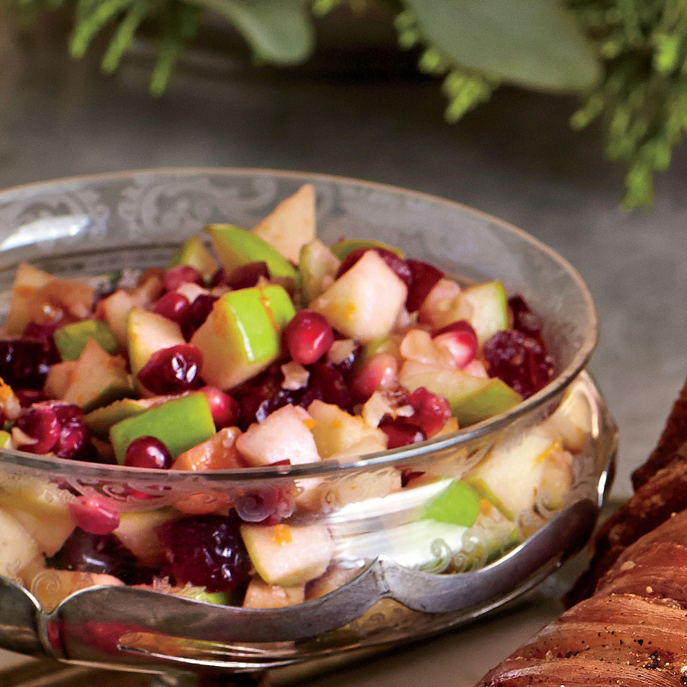 Apple-Cranberry-Pomegranate Salsa