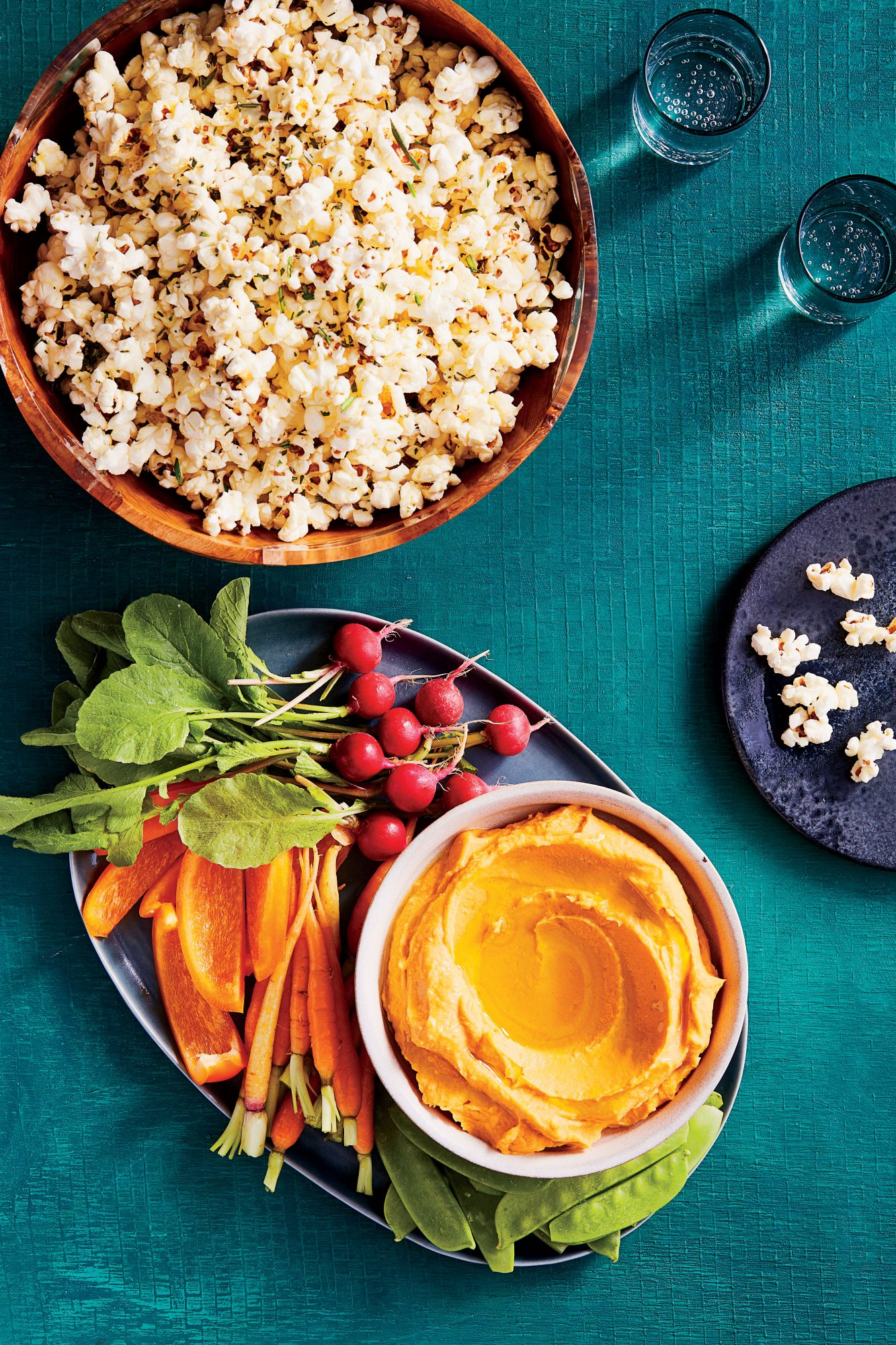Roasted Sweet Potato Hummus Recipe Julia Levy