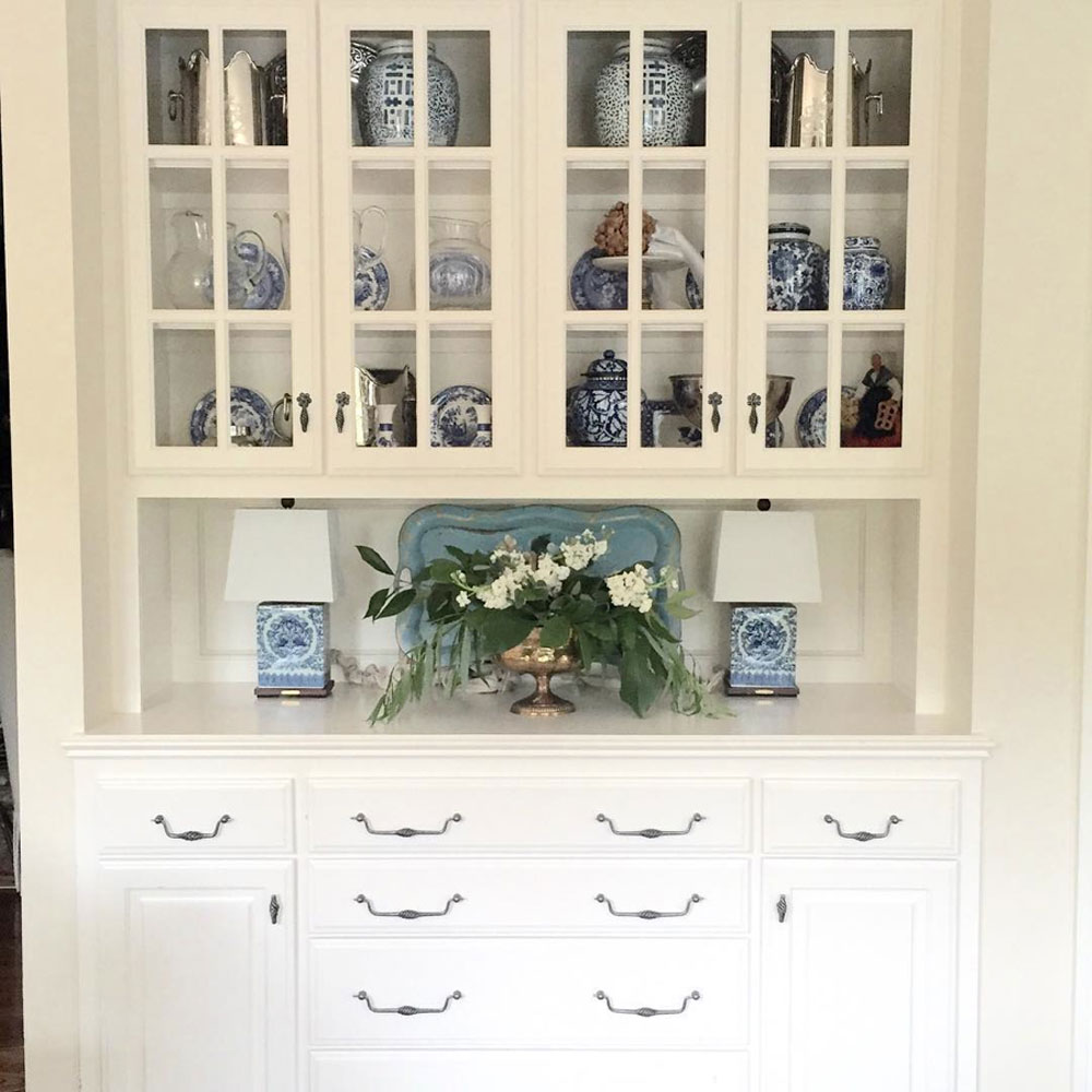 Blue and White Display Perfected