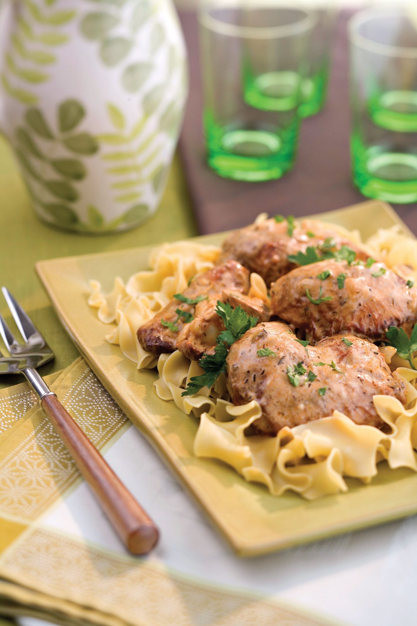 Snappy Smothered Chicken Southern Living