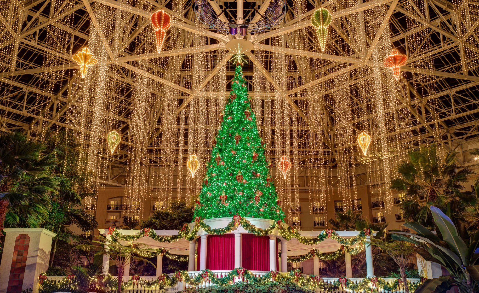 Christmas at Gaylord Palms Resort