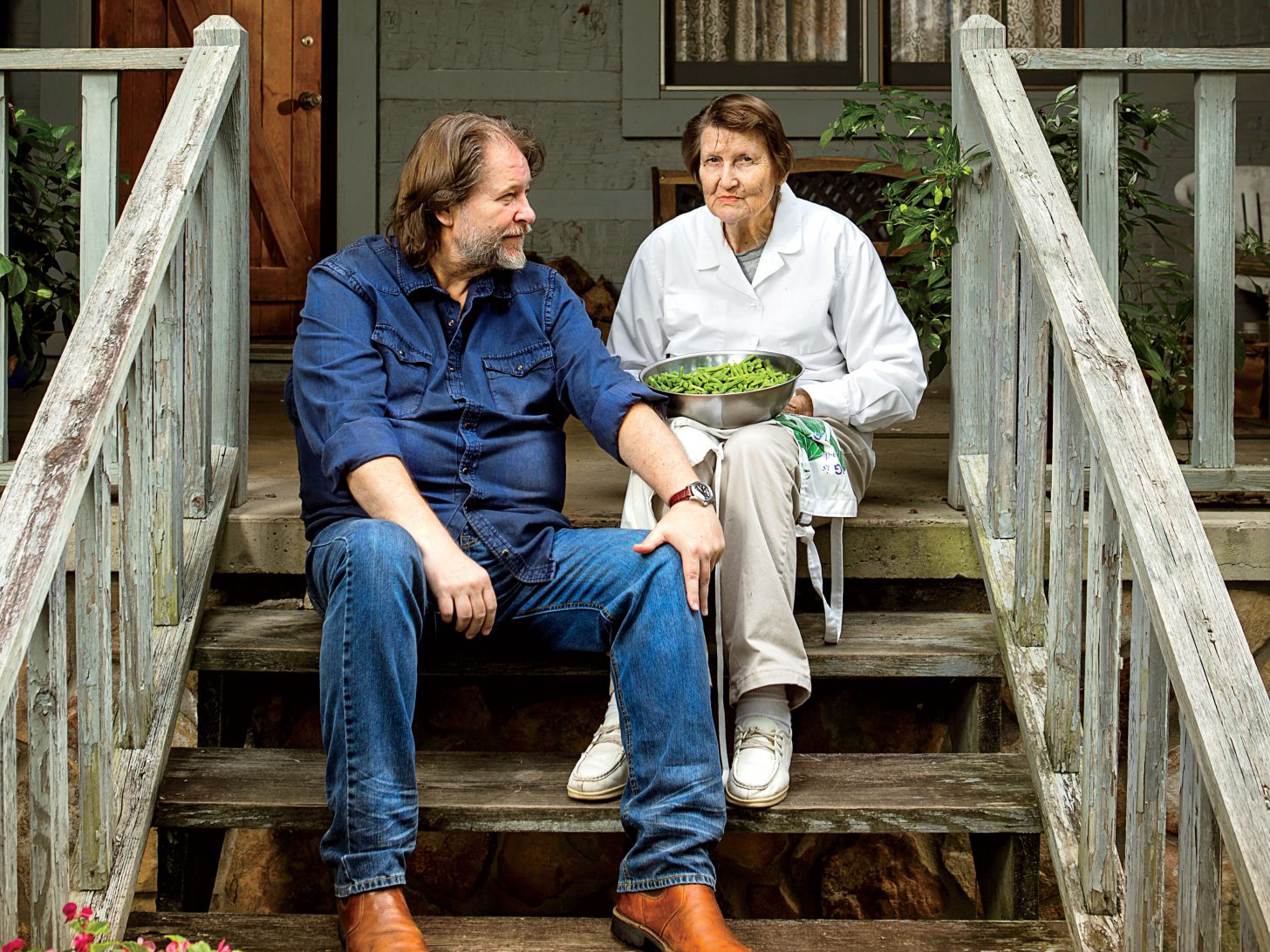 Rick Bragg and His Mother
