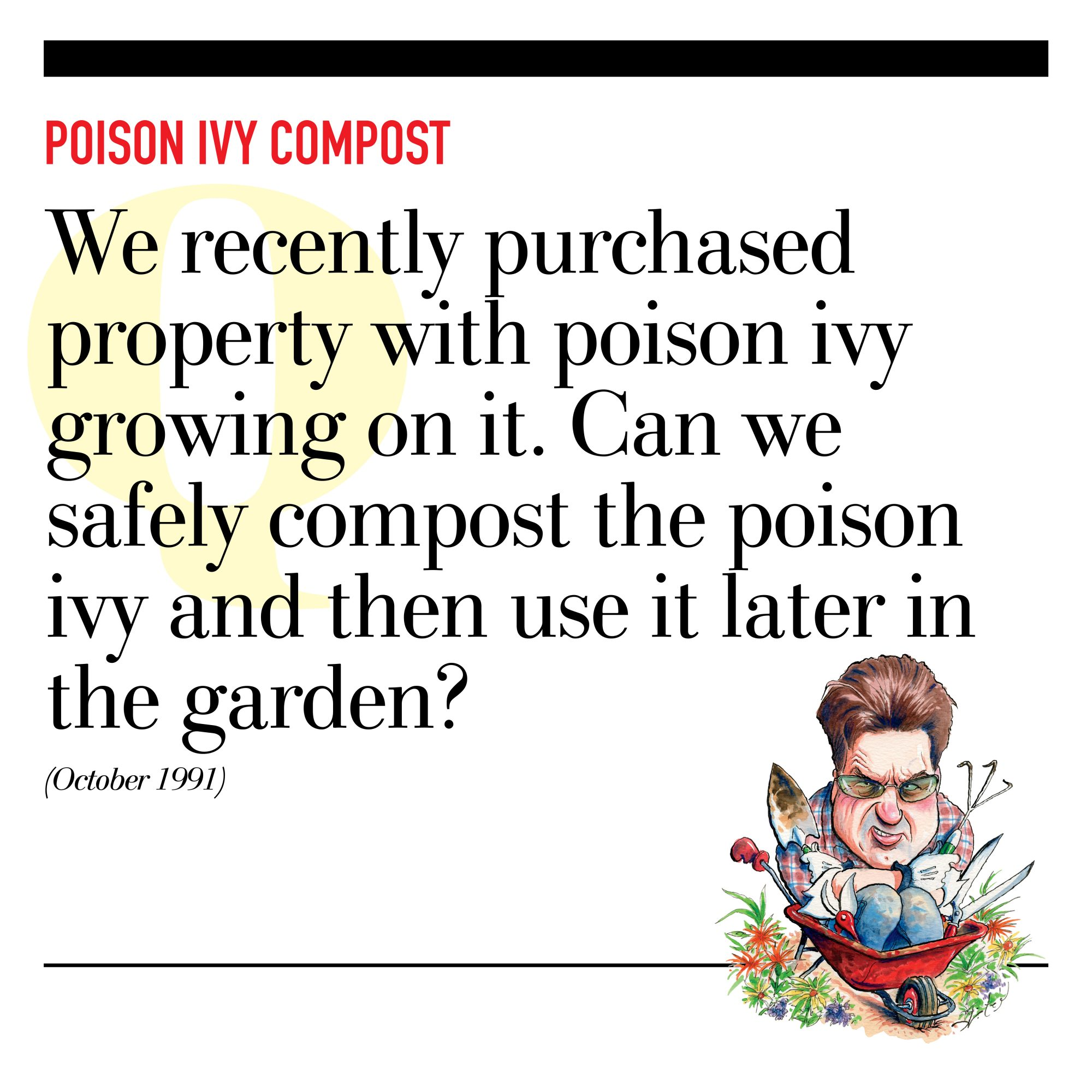 Poison Ivy Compost