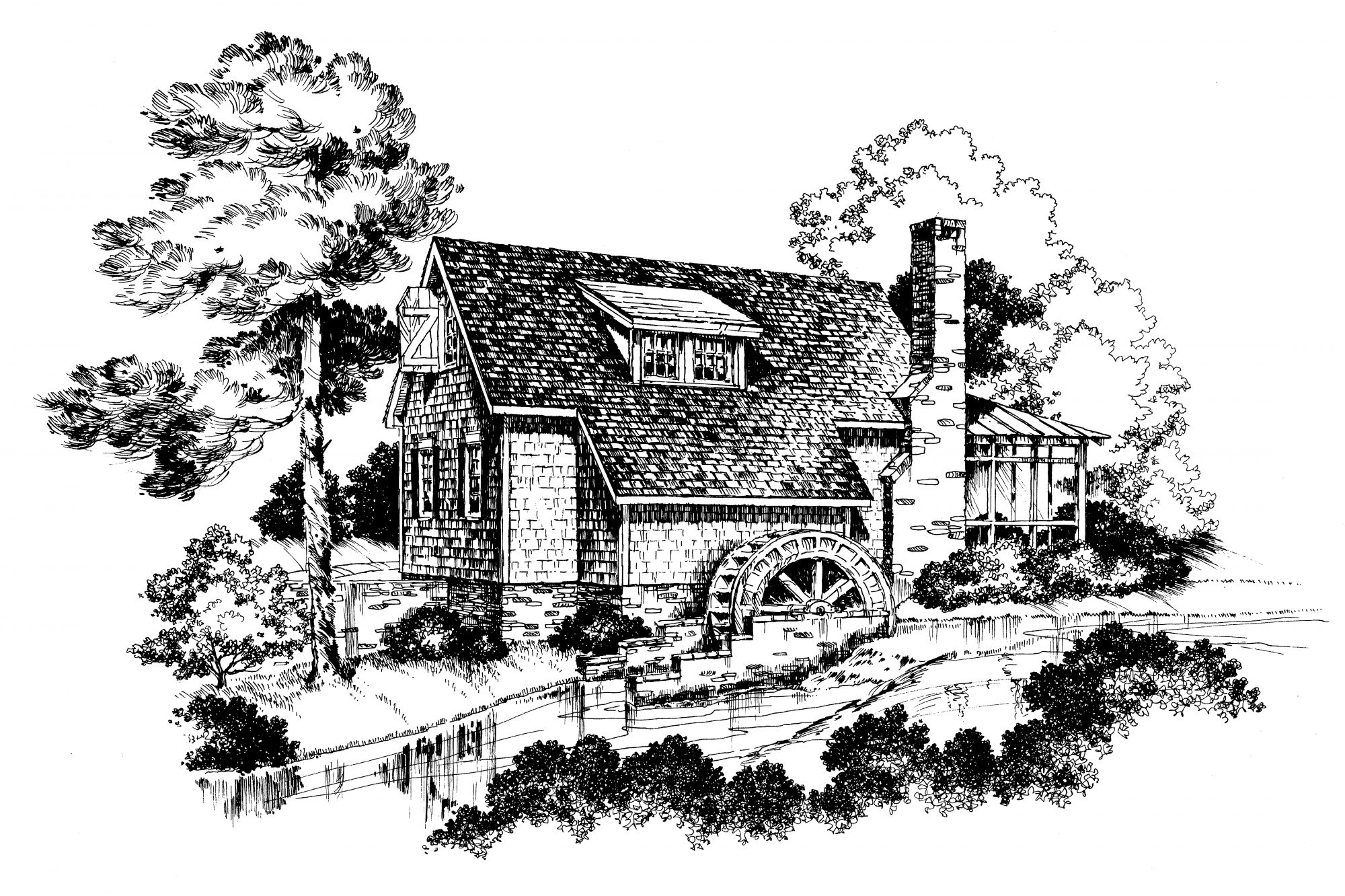 741 Yancey's Mill House Plan Image