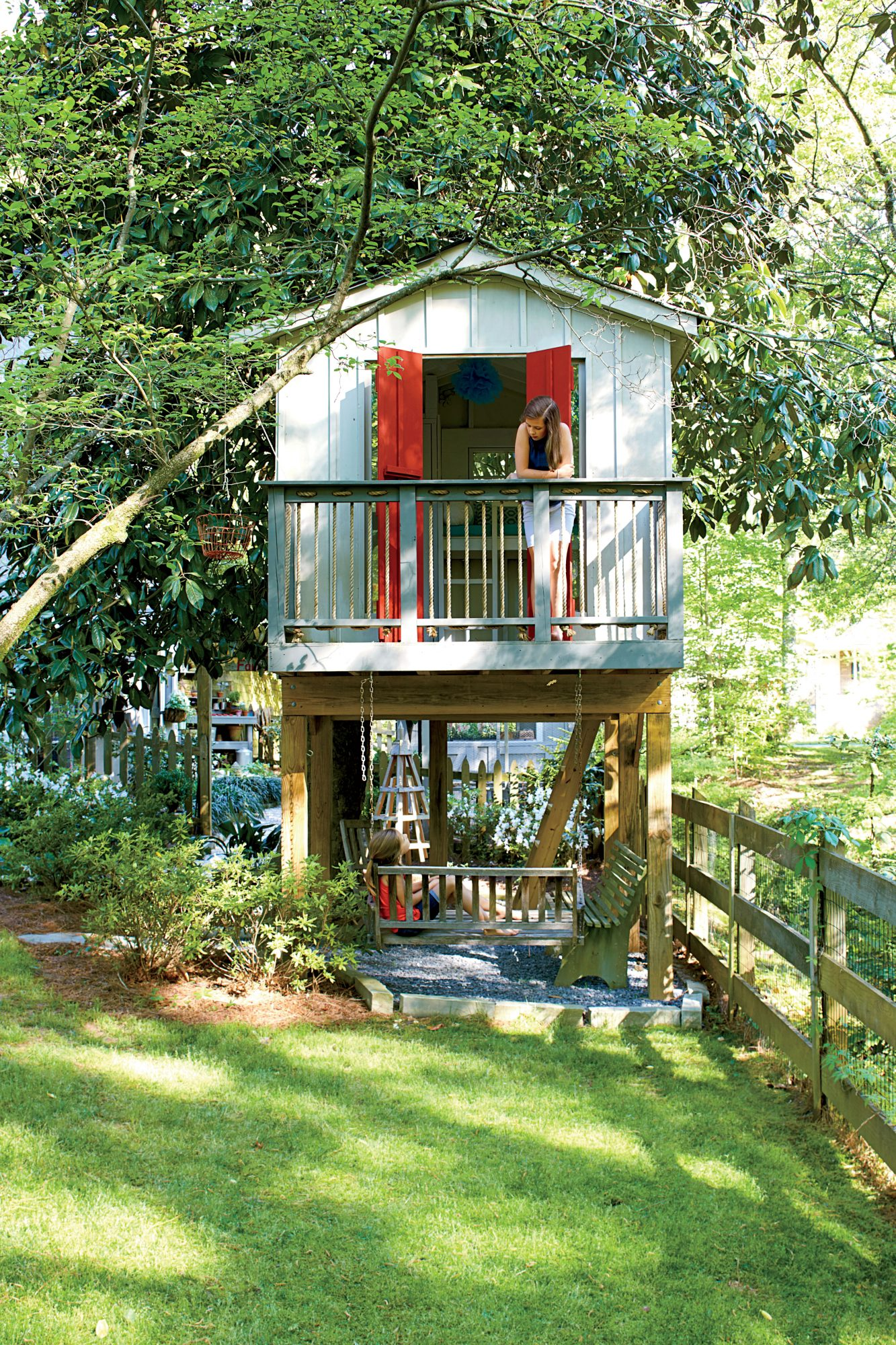 Backyard Tree House