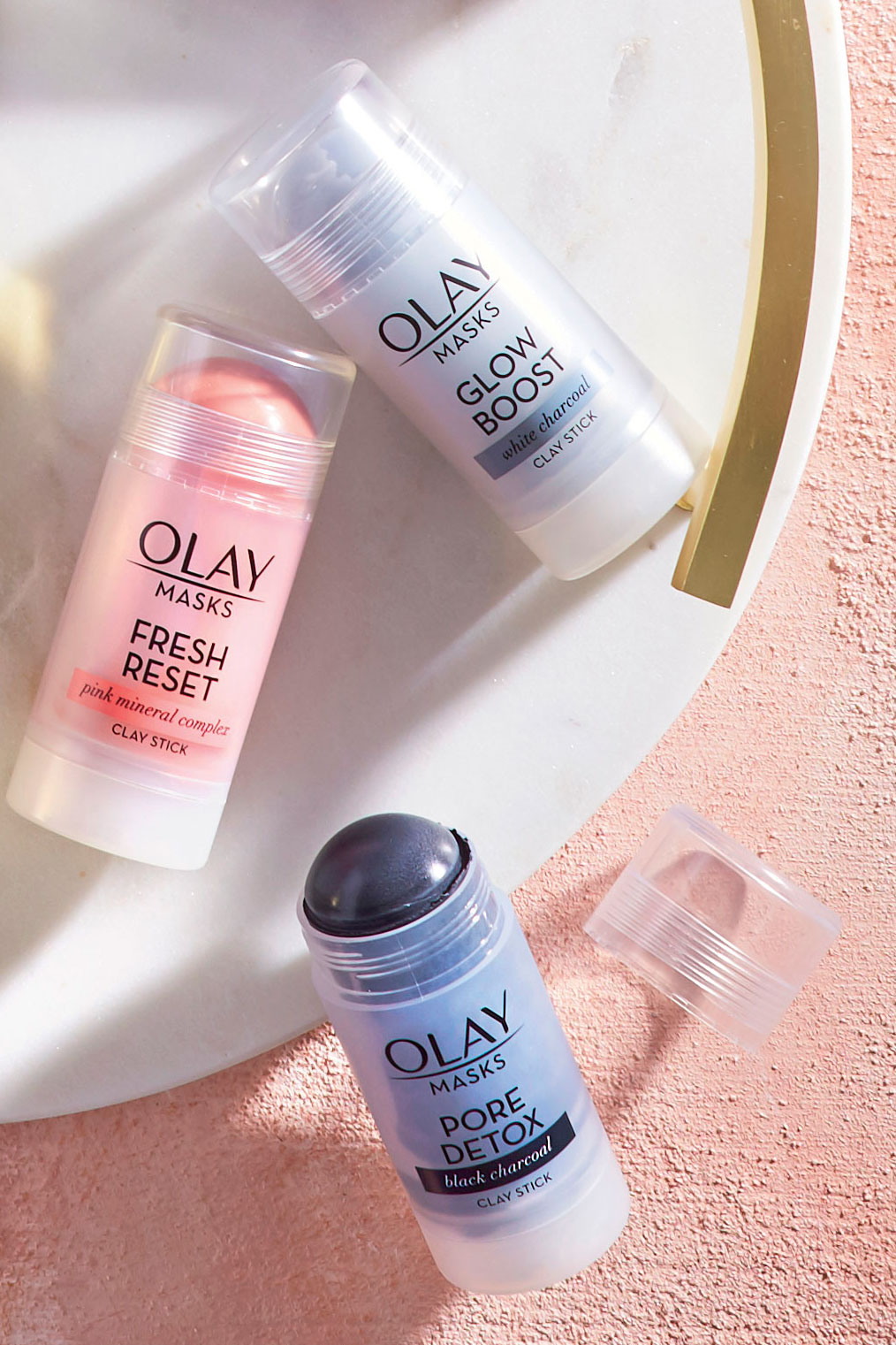 Olay Clay Face Mask Sticks