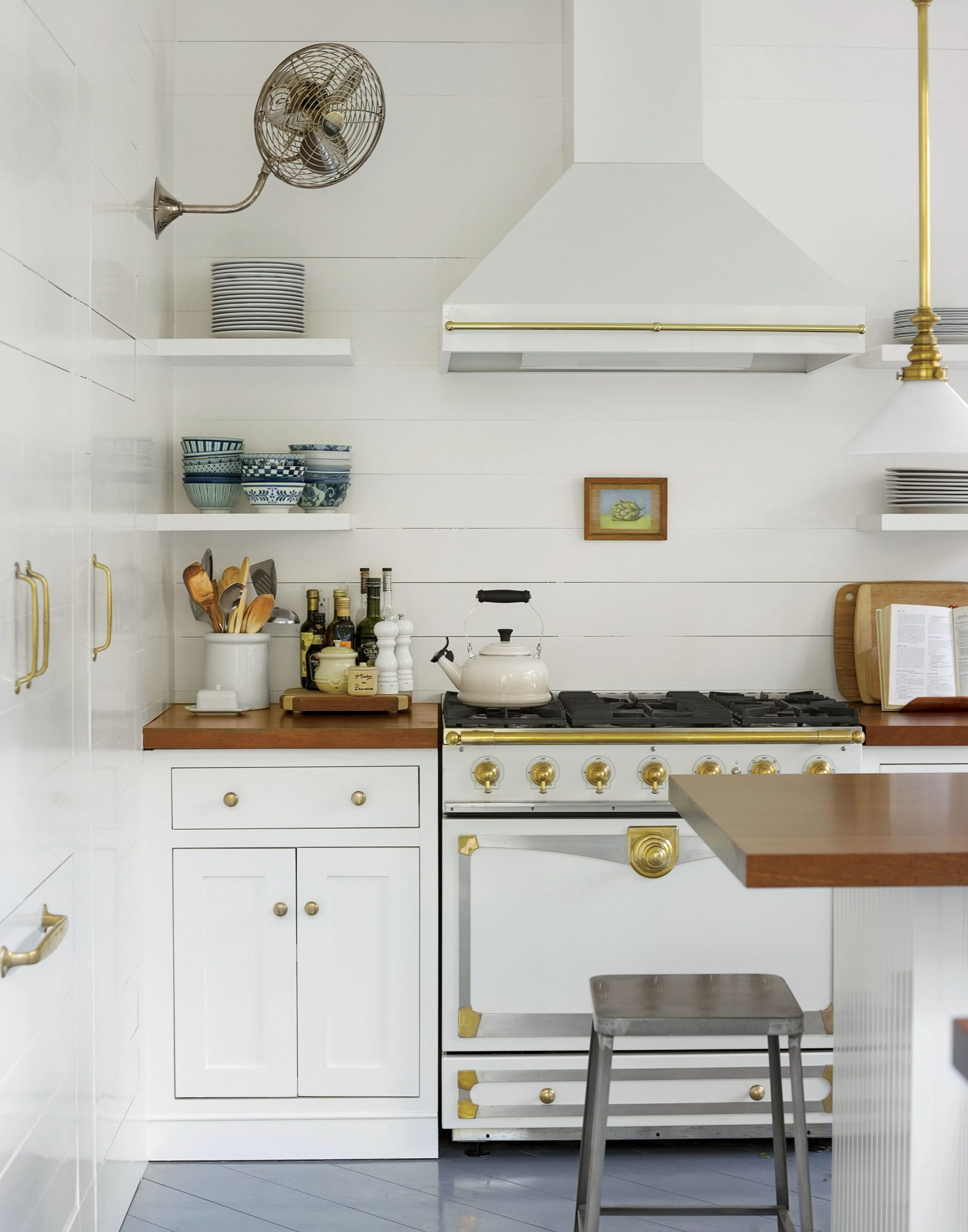 Charleston Historic Shiplap Kitchen