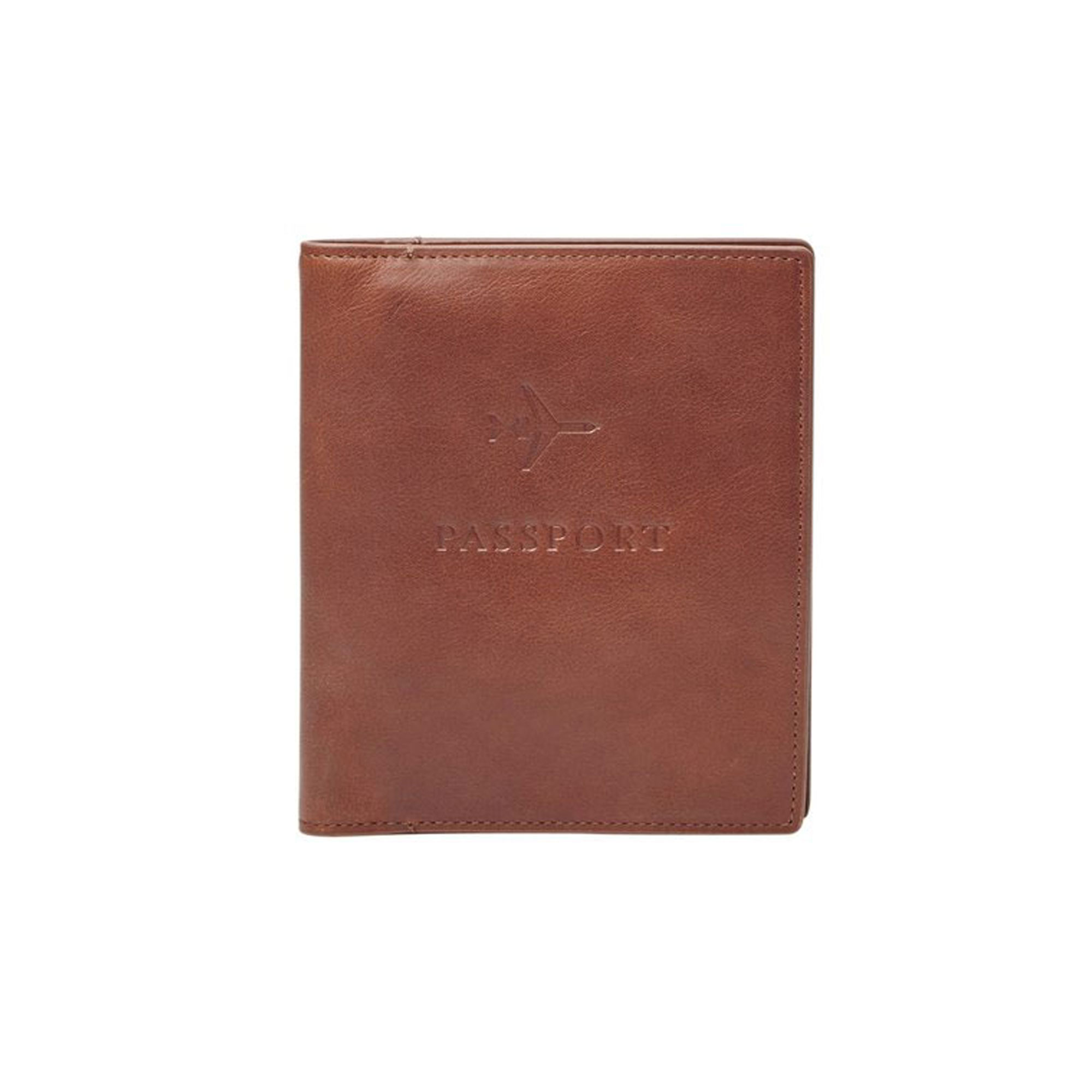 Fossil Leather Passport Case