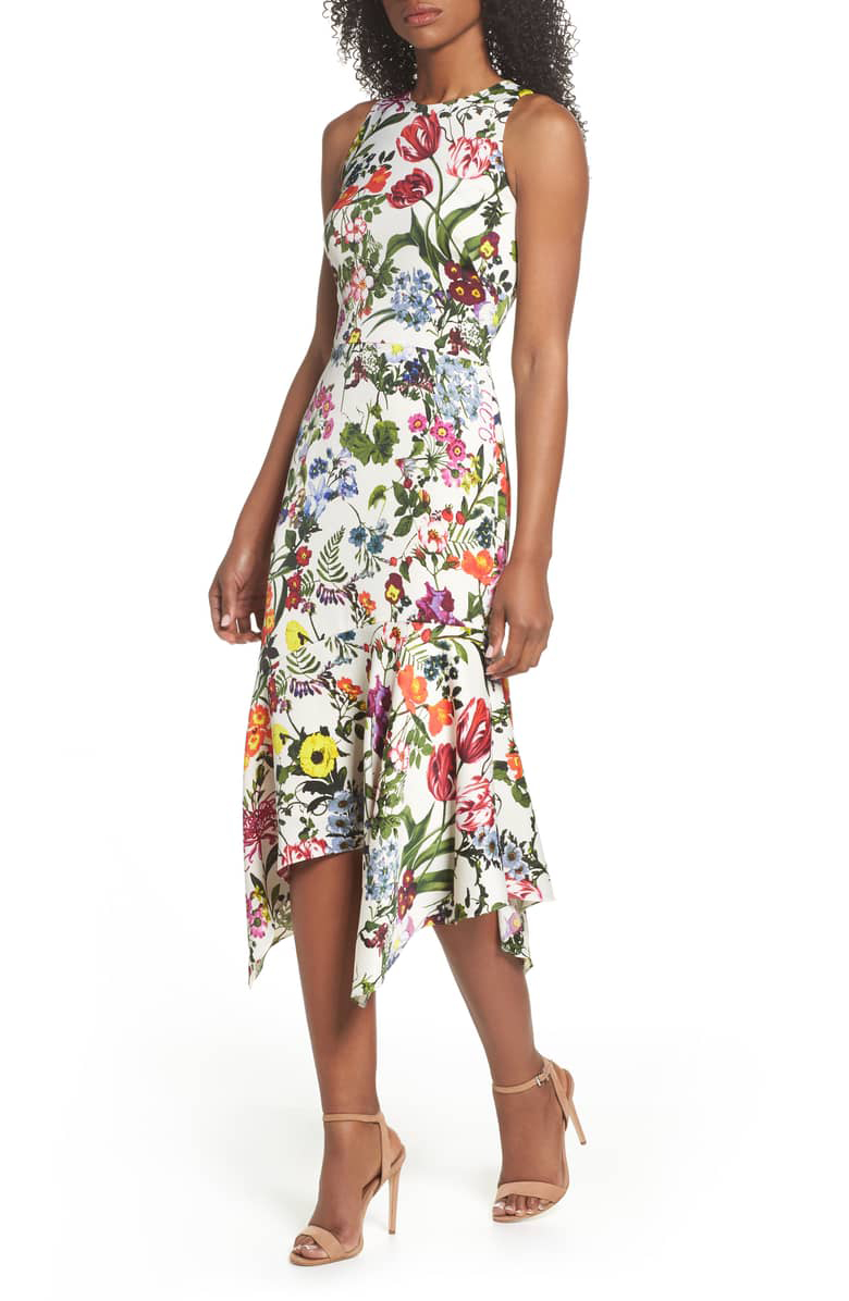 maggy-london-floral-print-dress