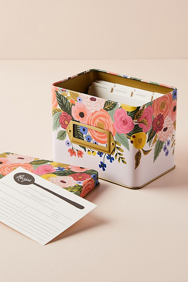Rifle Paper Co. Recipe Tin