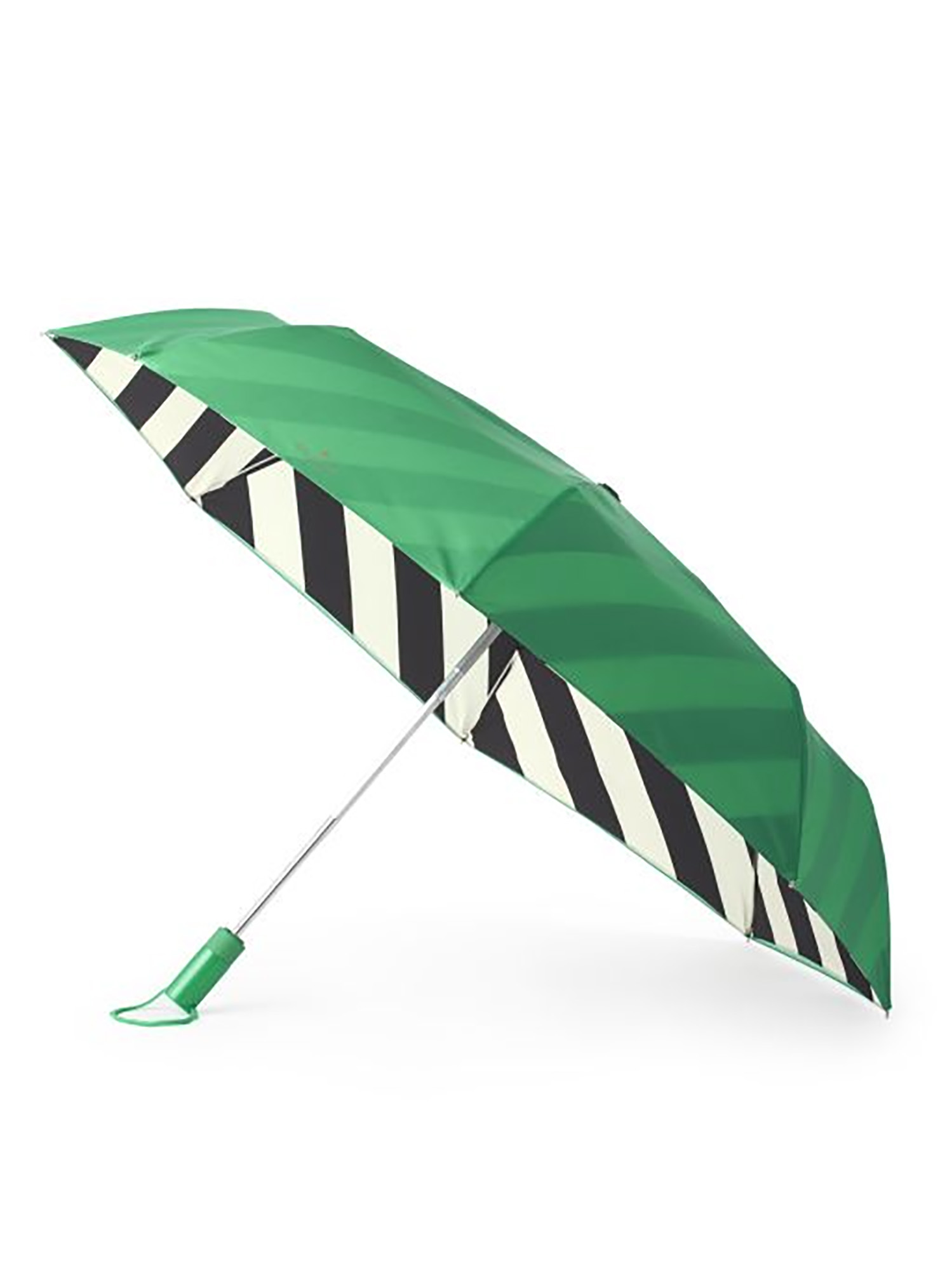 Kate Spade New York Striped Lining Travel Umbrella