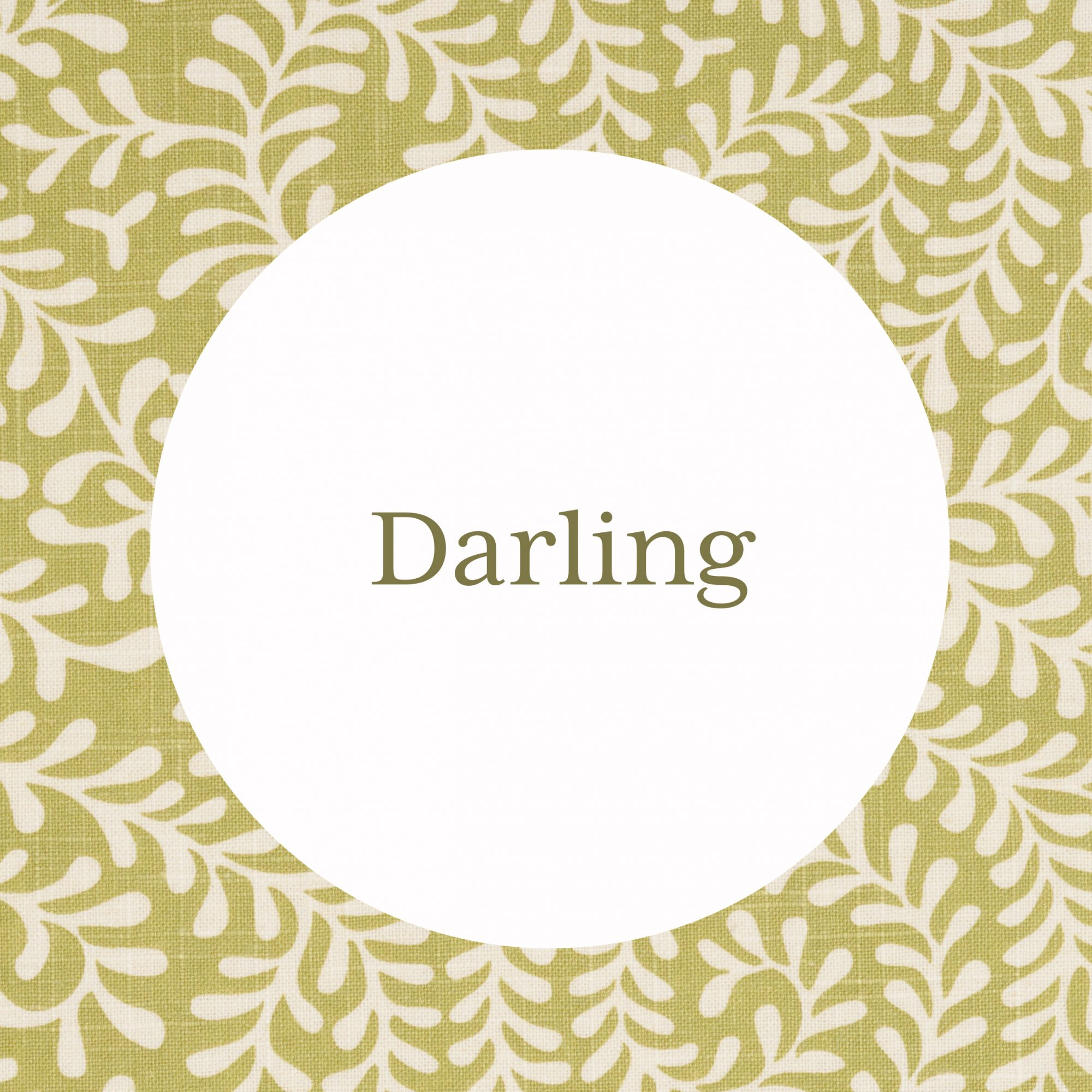 Darling Grandmother Name