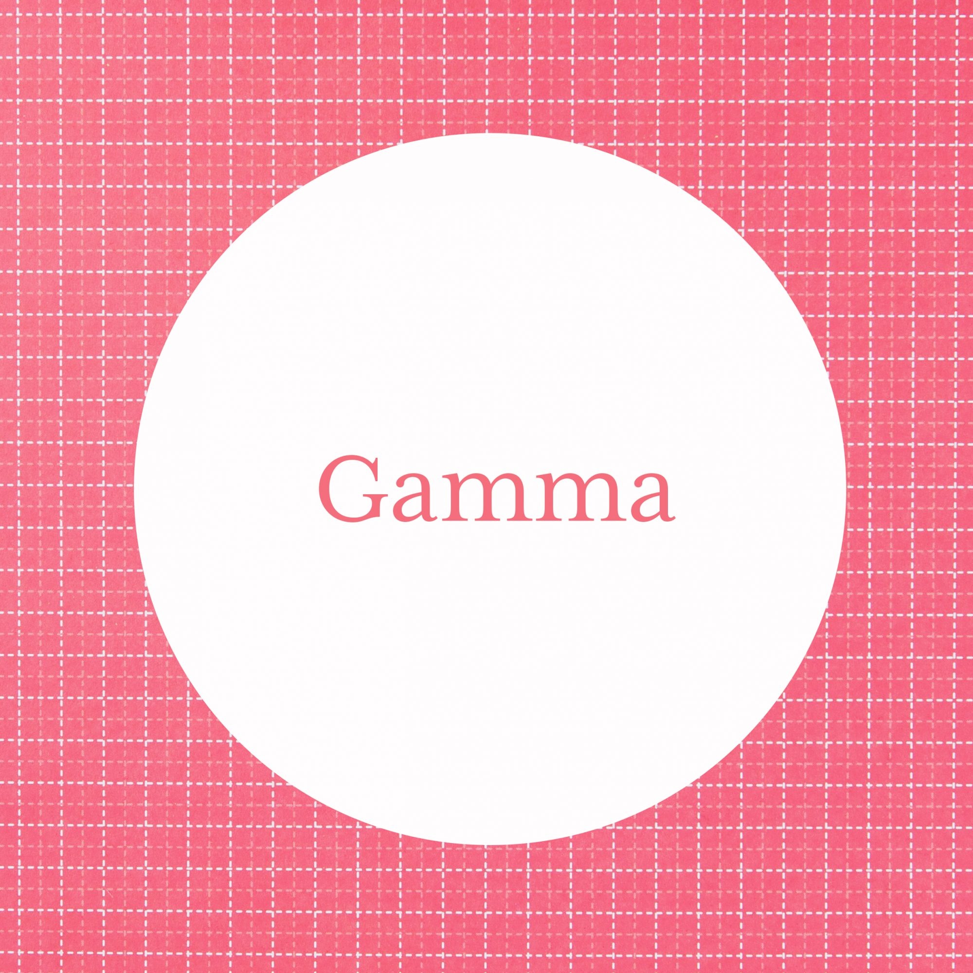Gamma Grandmother Name