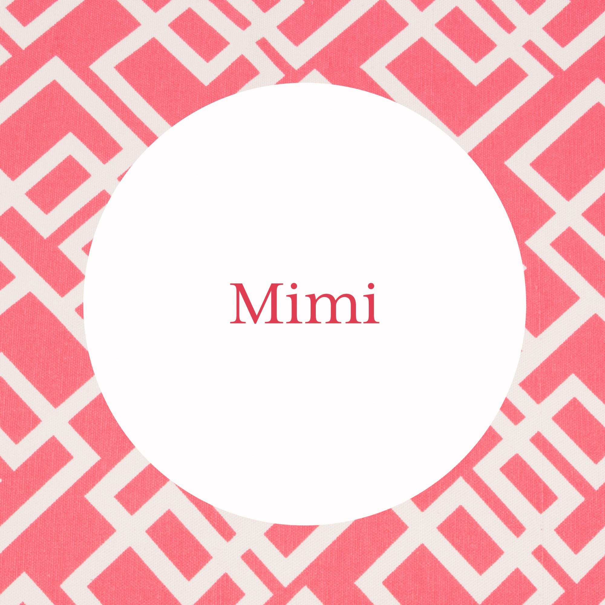 Mimi Grandmother Name Image