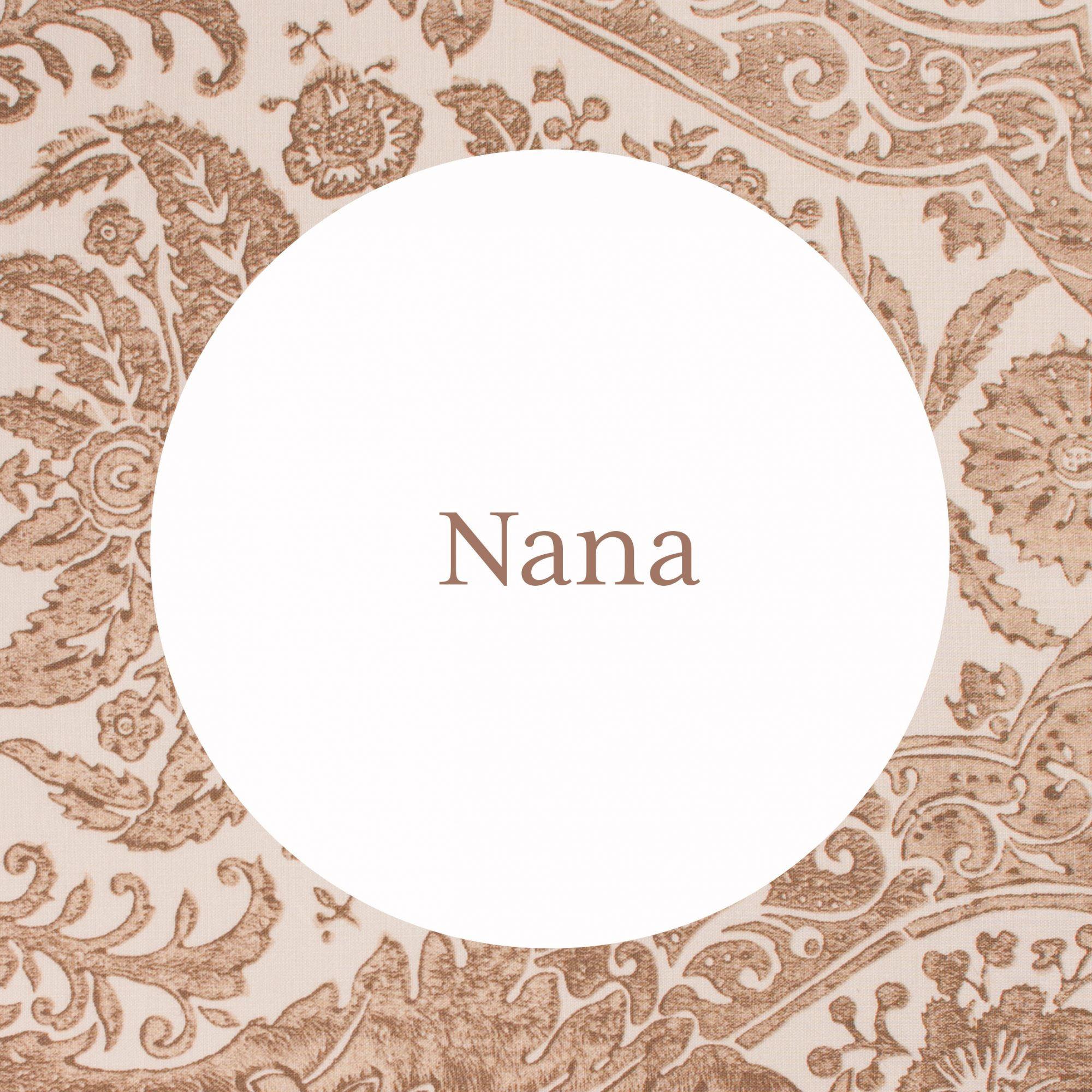 Nana Grandmother Name