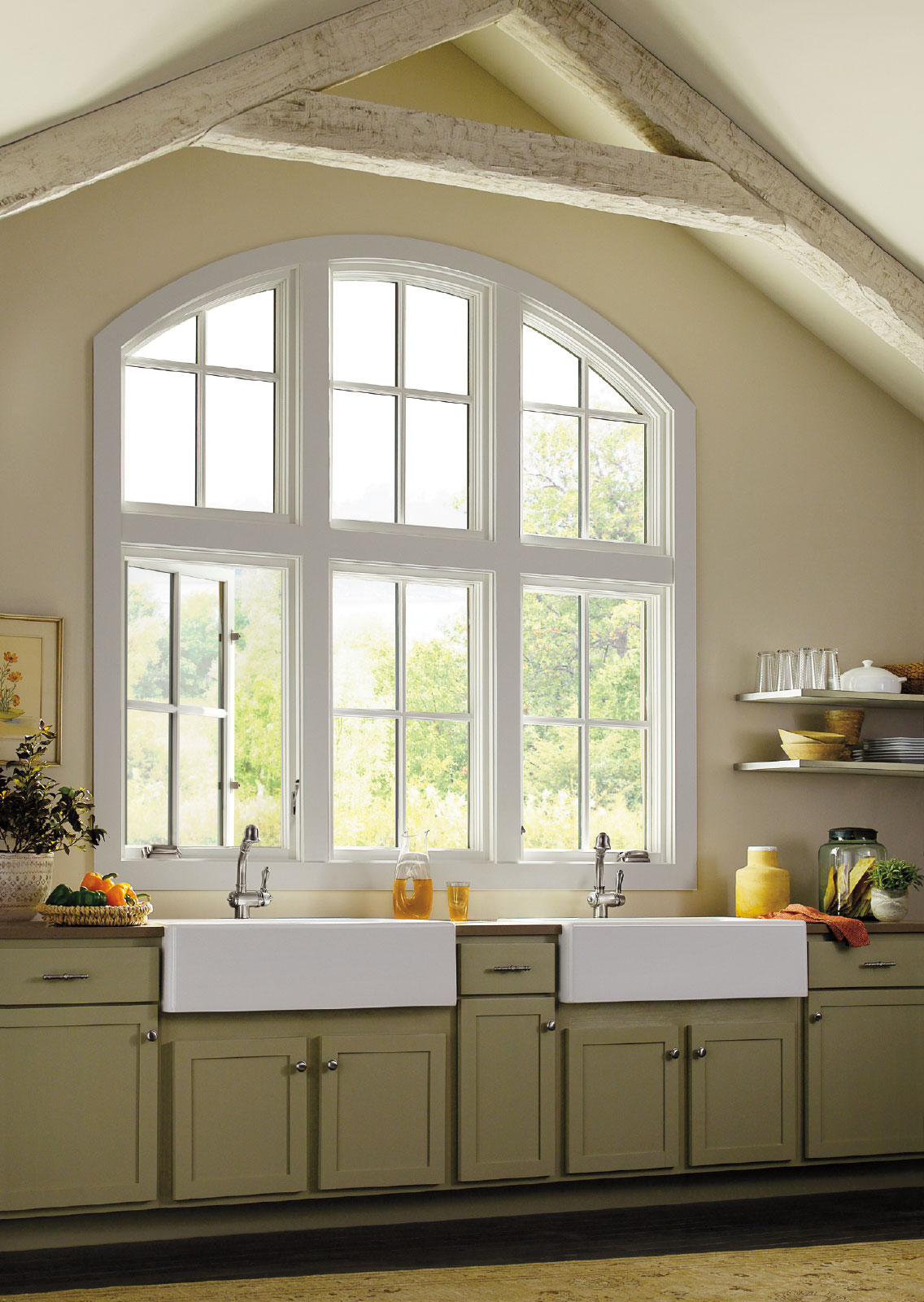 Marvin Casement Windows Farmhouse Sink