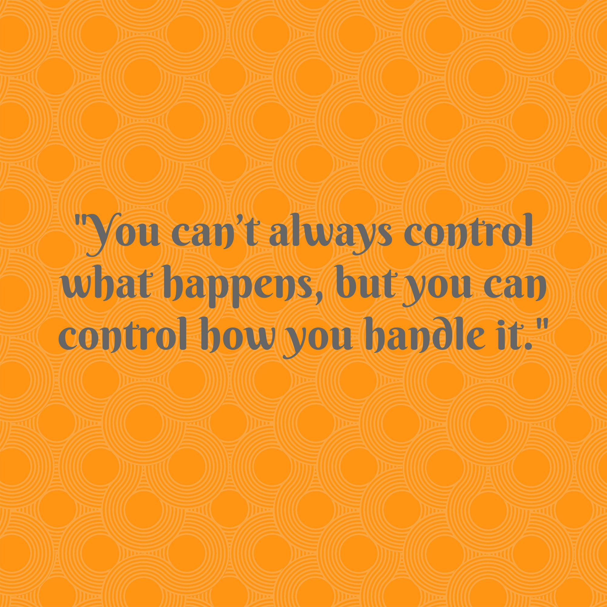 Pat Summitt on Control