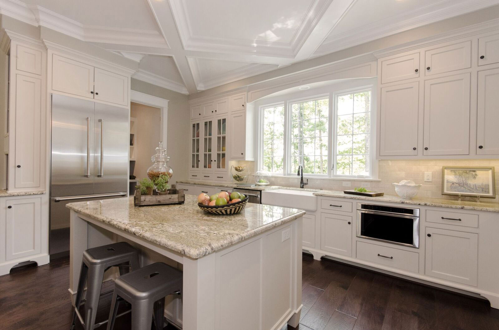 Marvin Custom Casement Kitchen Windows