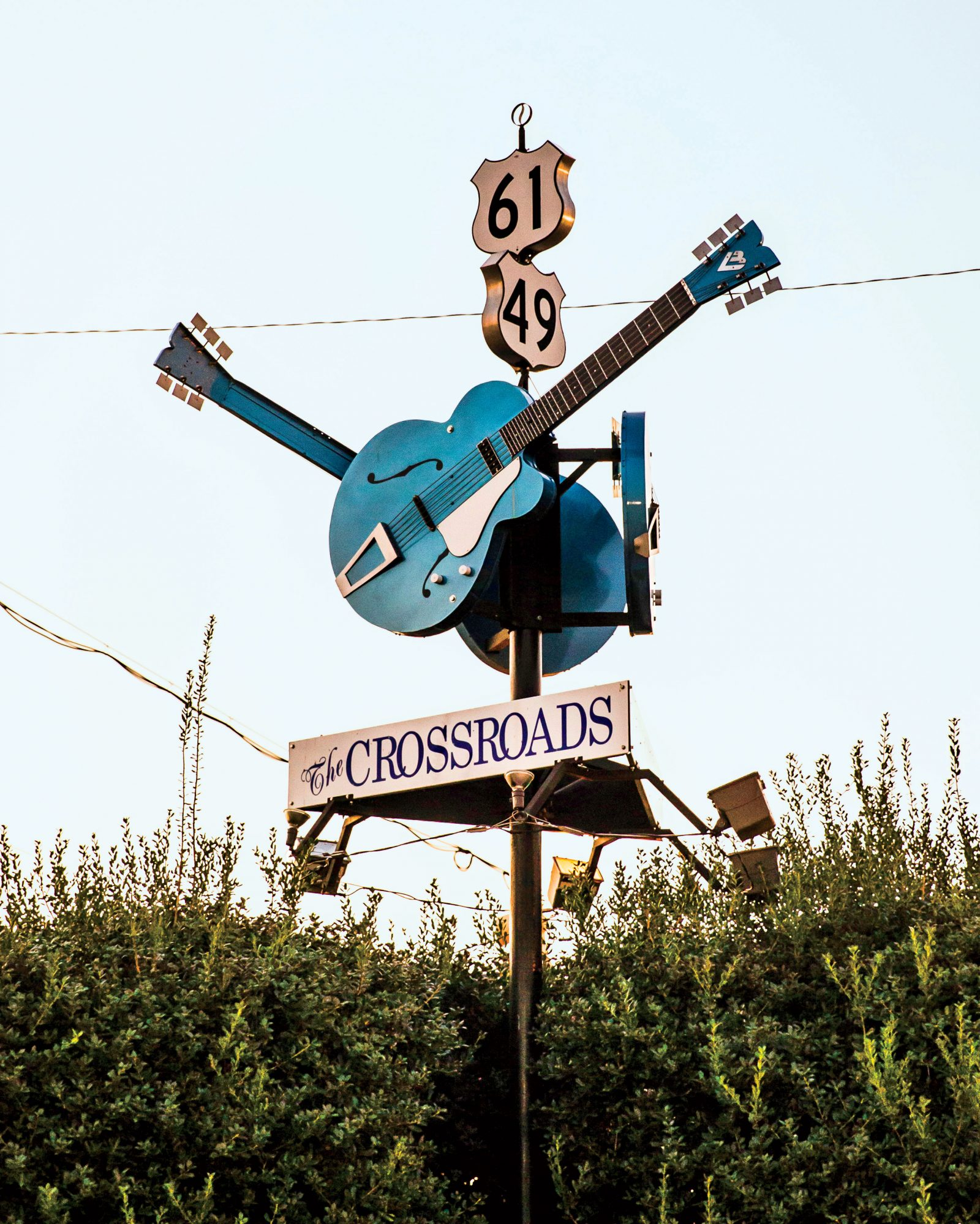 Robert Johnson's fabled Crossroads