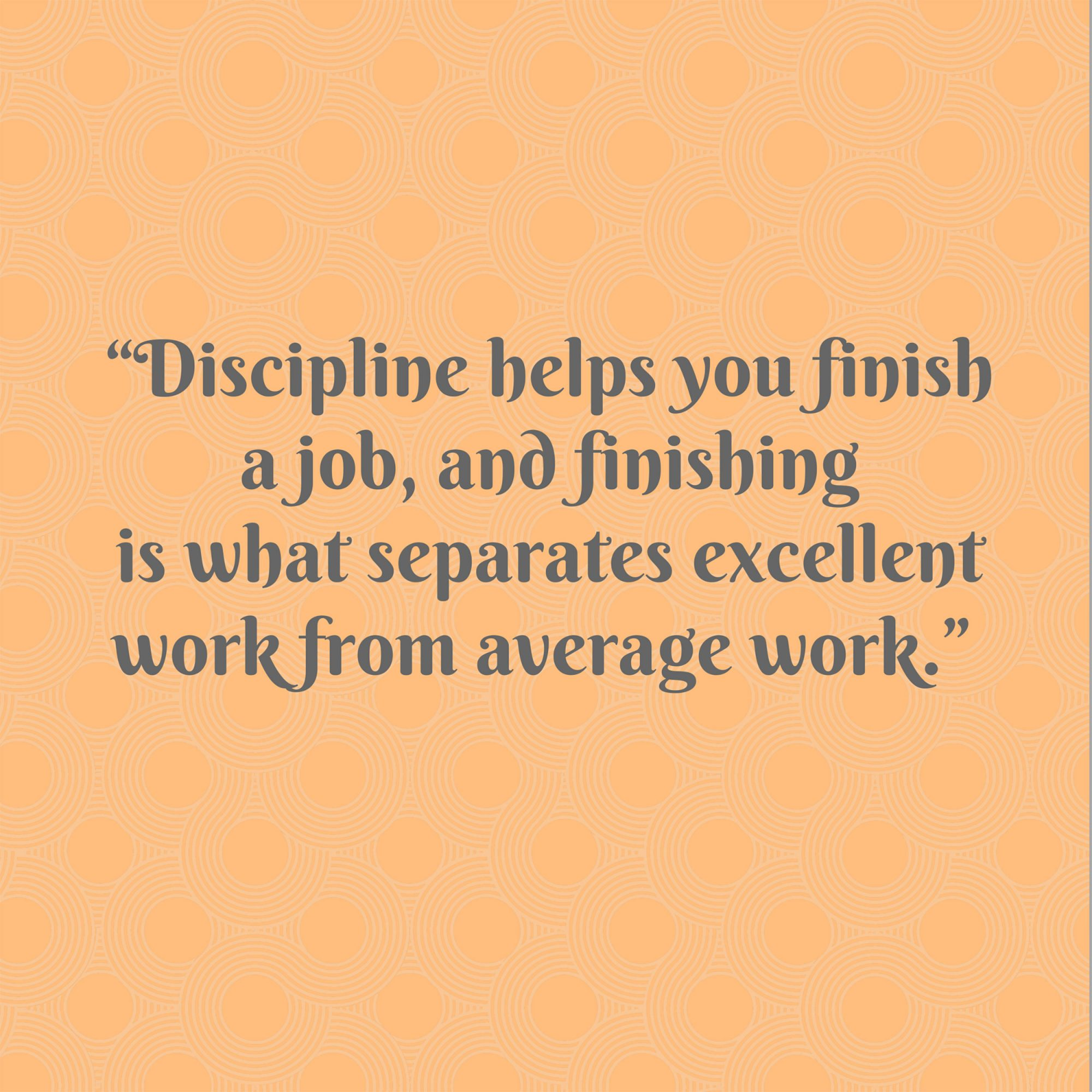 Pat Summitt on Discipline