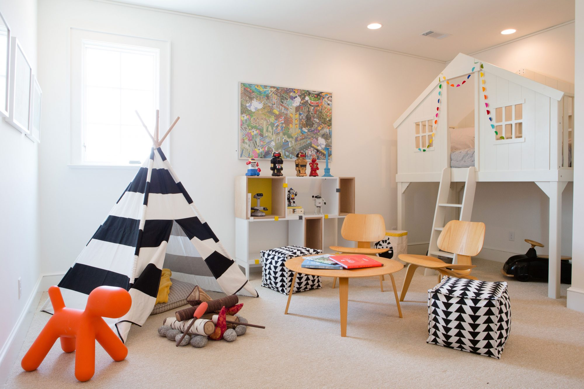 Southern Living Inspired Home at Hampstead Kid's Room