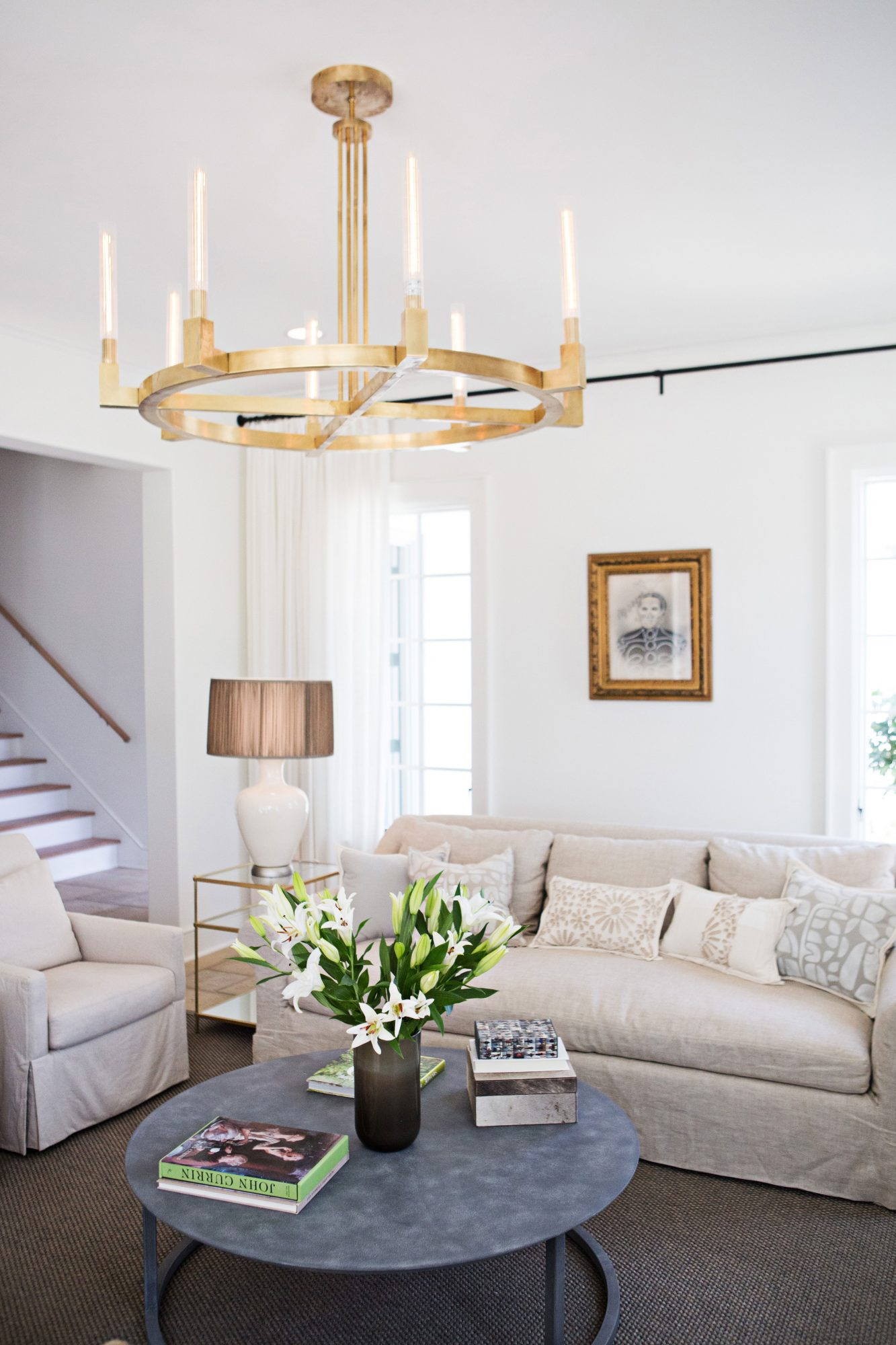 Southern Living Inspired Home at Hampstead Living Room