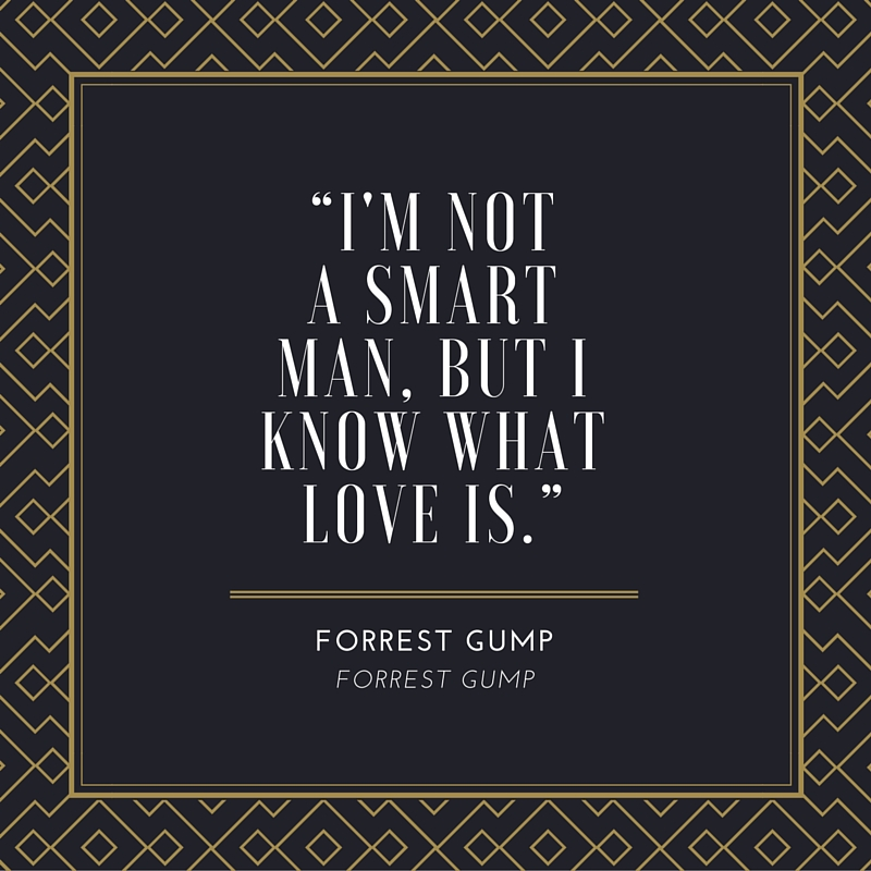 Forrest Gump Love Quote