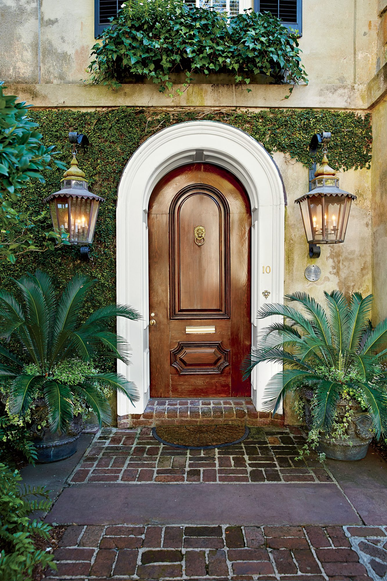 Charleston Mahogany Front Door