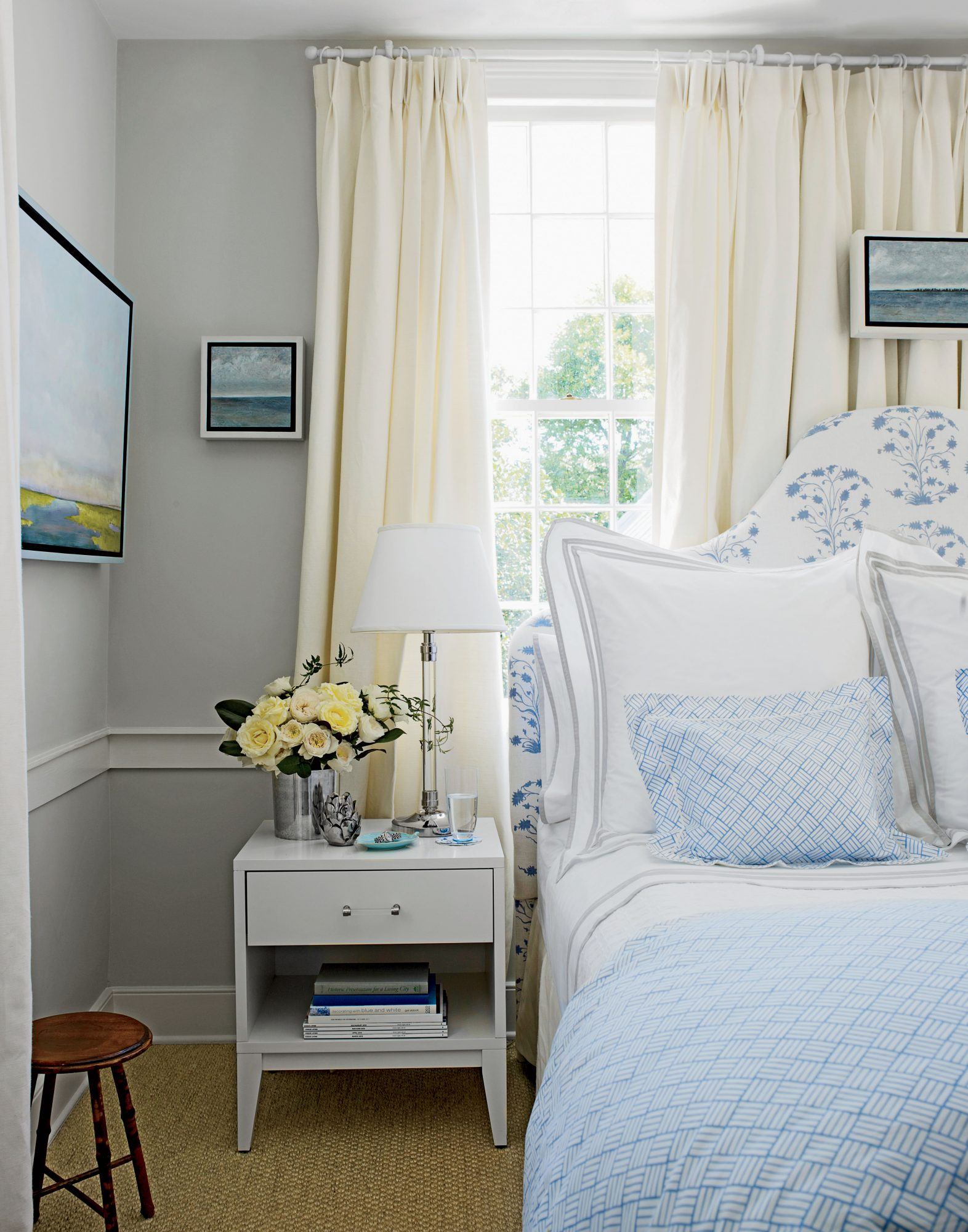 Neutral Gray Bedroom