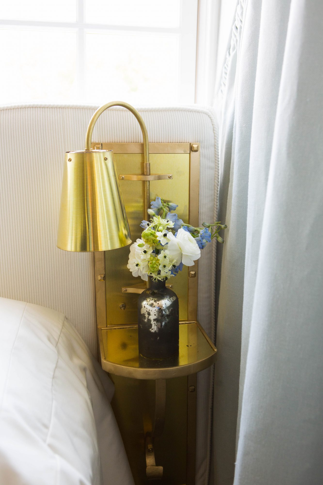 Bronze Table Sconce