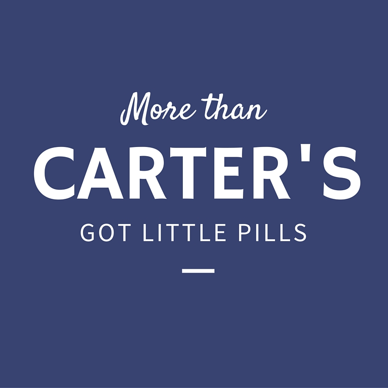 More Than Carter's Got Little Pills