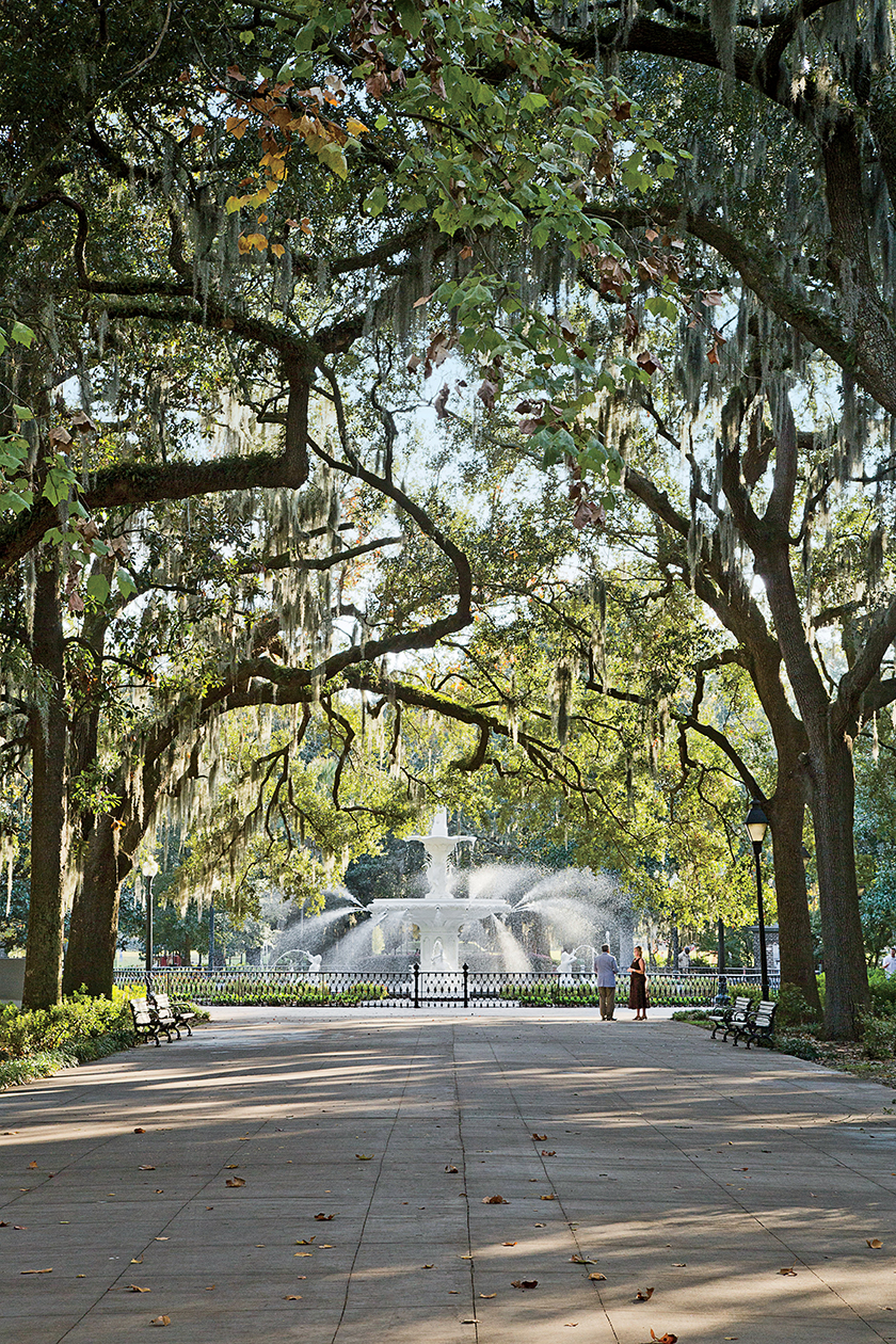 Forsyth Park in Savannah, GA