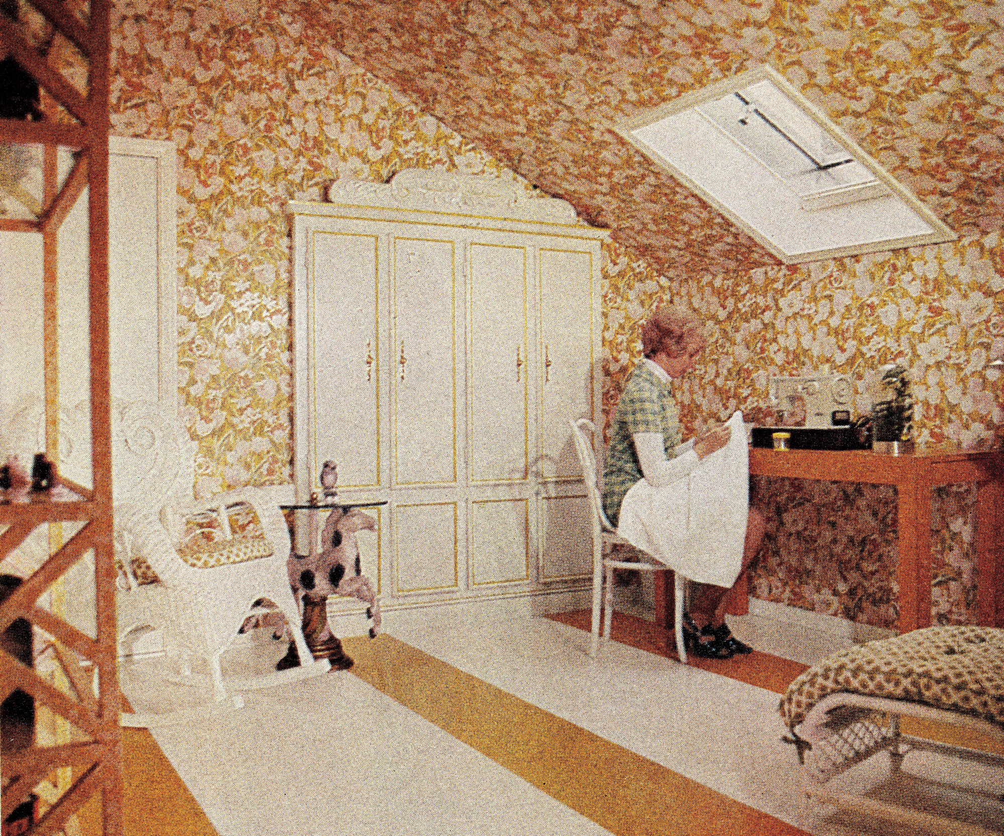 January 1976 Sewing Room