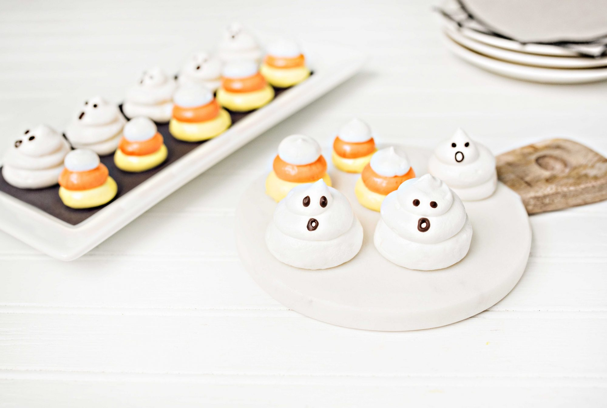 Halloween Treat Meringues