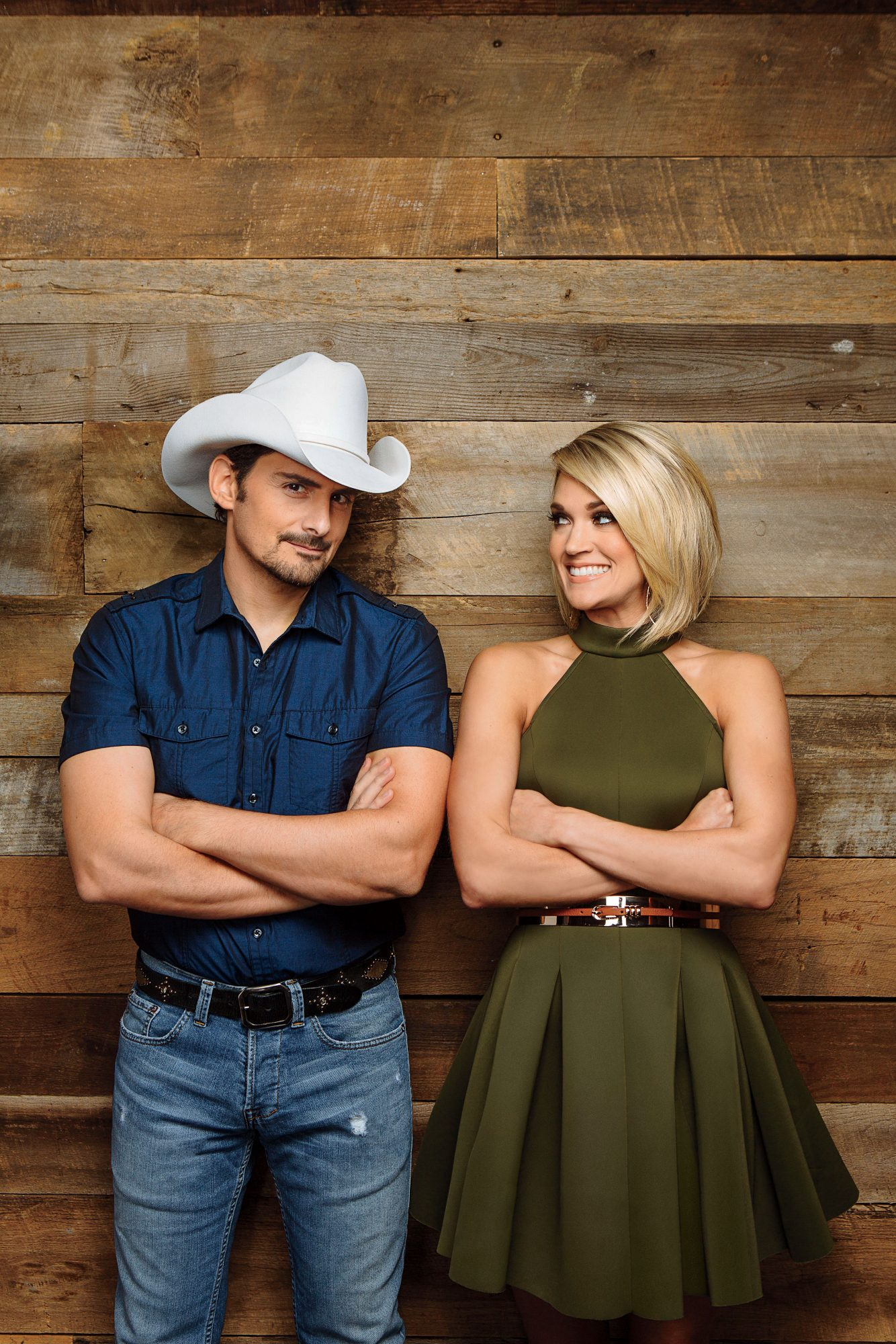 Brad and Carrie Cover Shot