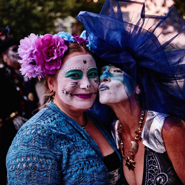 New Orleans Day of the Dead celebrations