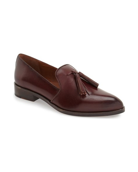 women's tasseled loafers