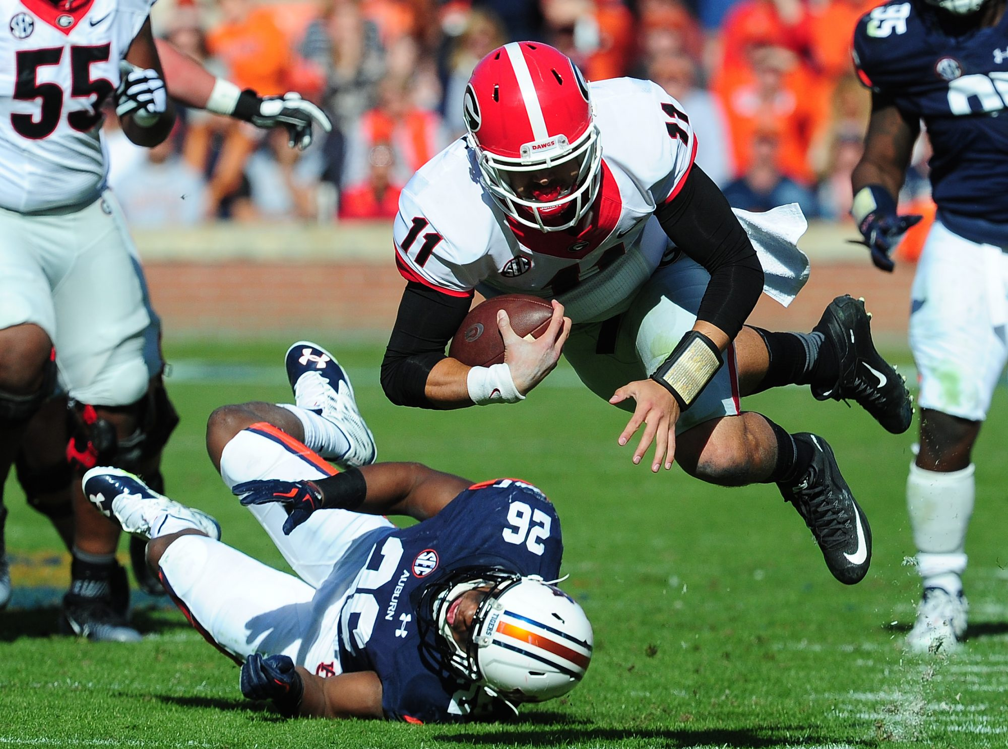Georgia vs. Auburn Football